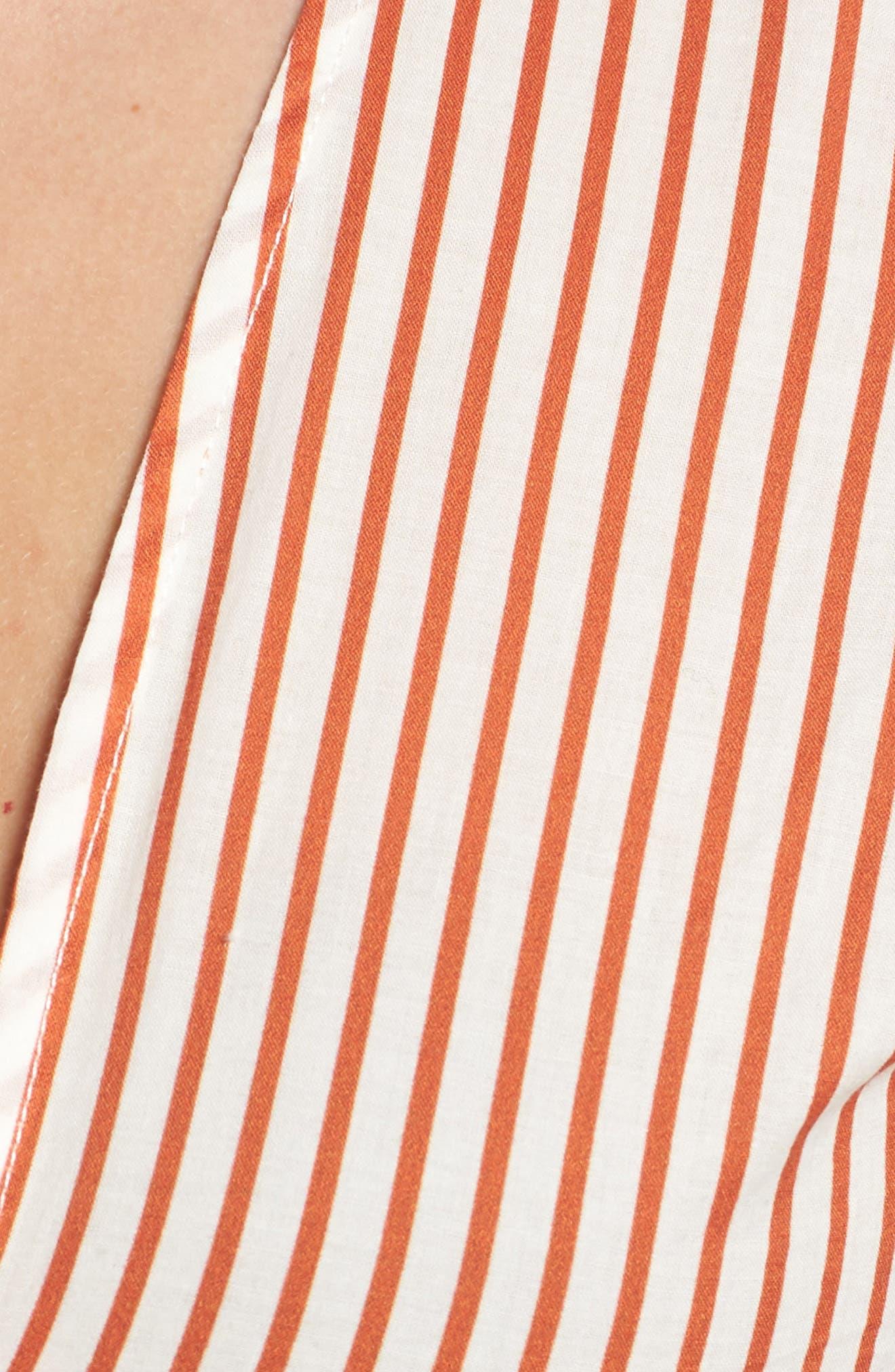 Selma Wrap Crop Top,                             Alternate thumbnail 6, color,                             800