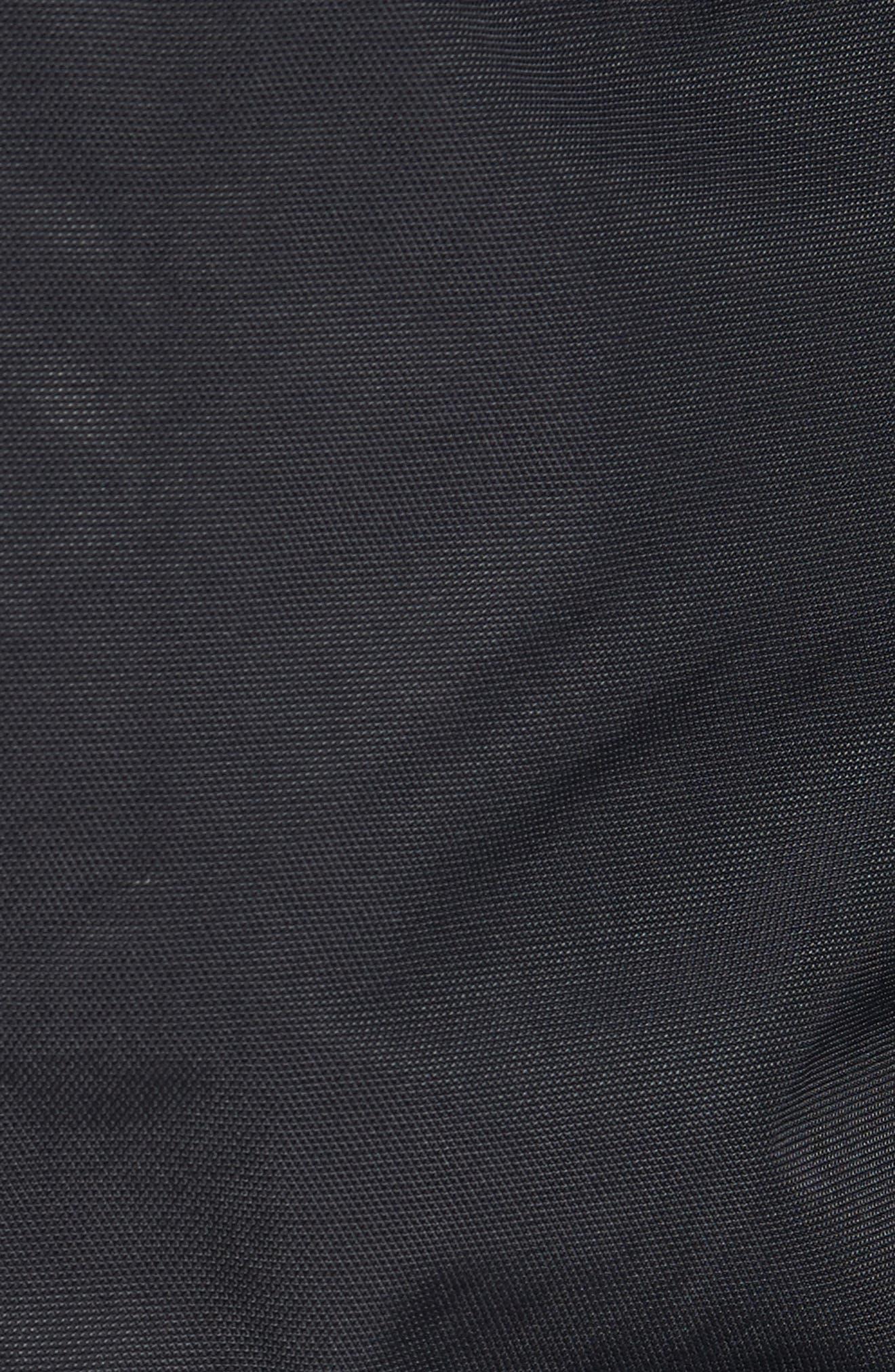 El Misti Trench II Hooded Jacket,                             Alternate thumbnail 7, color,                             BLACK