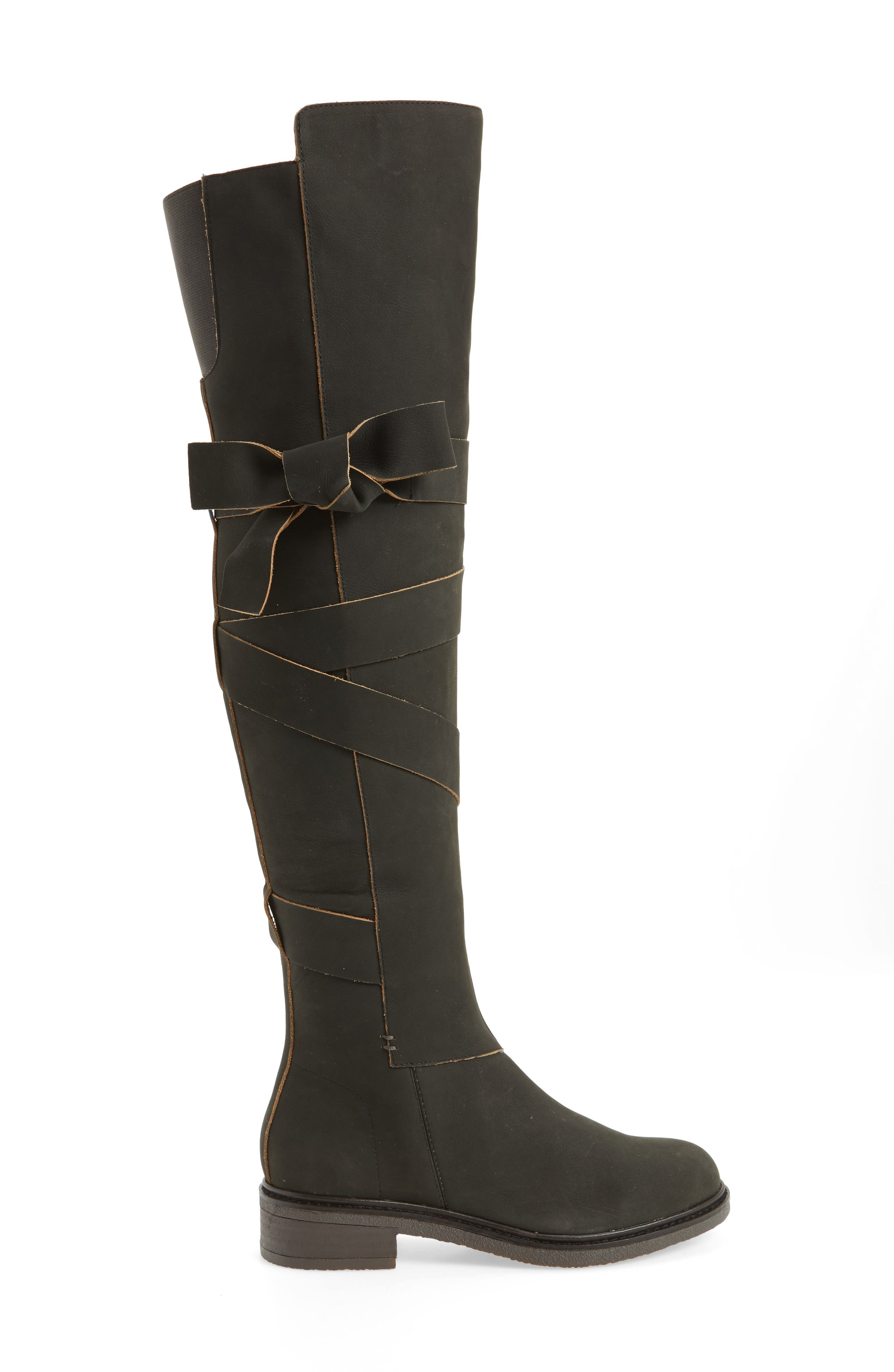 Colby Over the Knee Boot,                             Alternate thumbnail 3, color,                             001