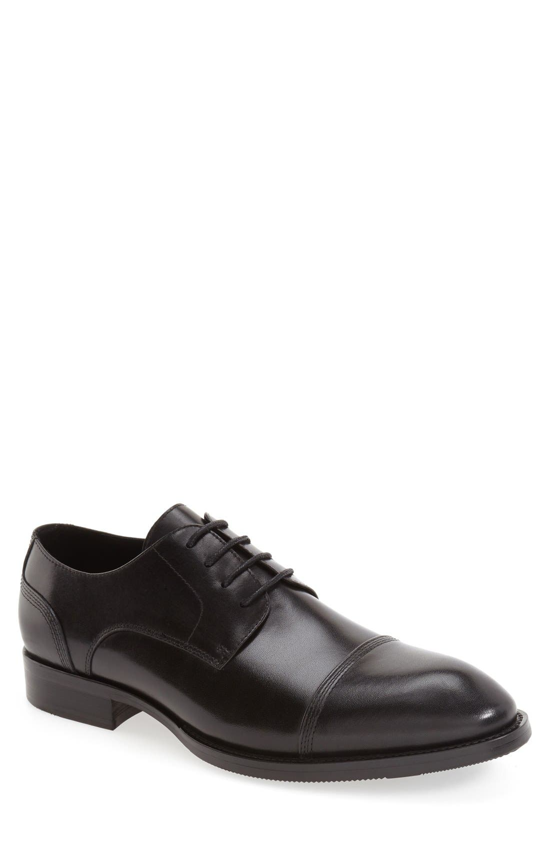 'Gauguin' Cap Toe Derby,                         Main,                         color, 001