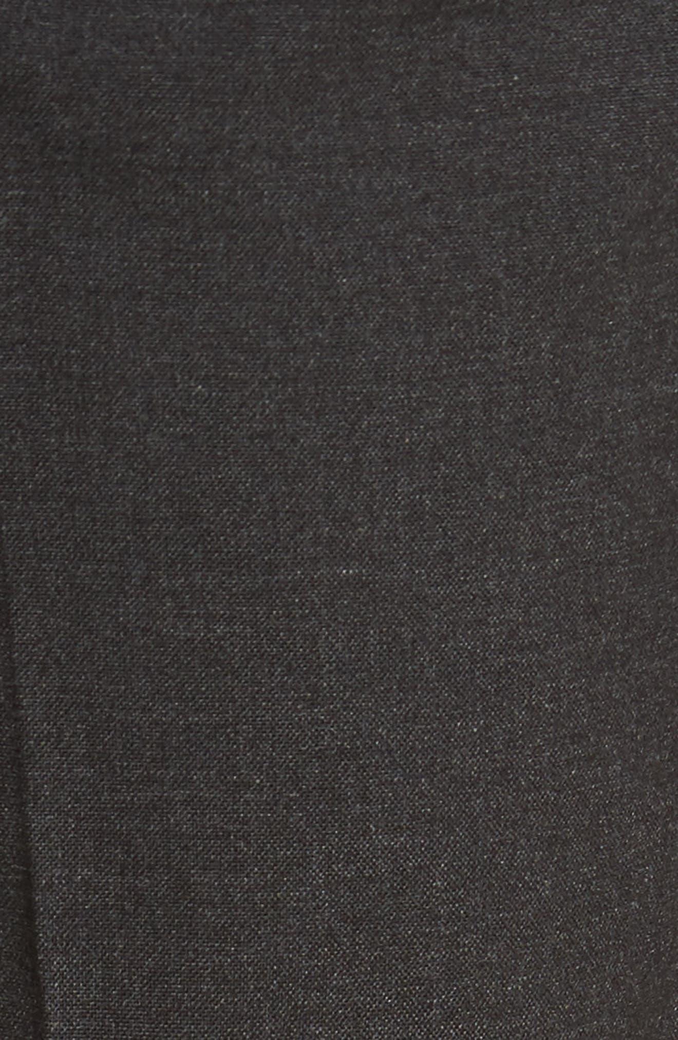 Black Skinny Fit Trousers,                             Alternate thumbnail 10, color,