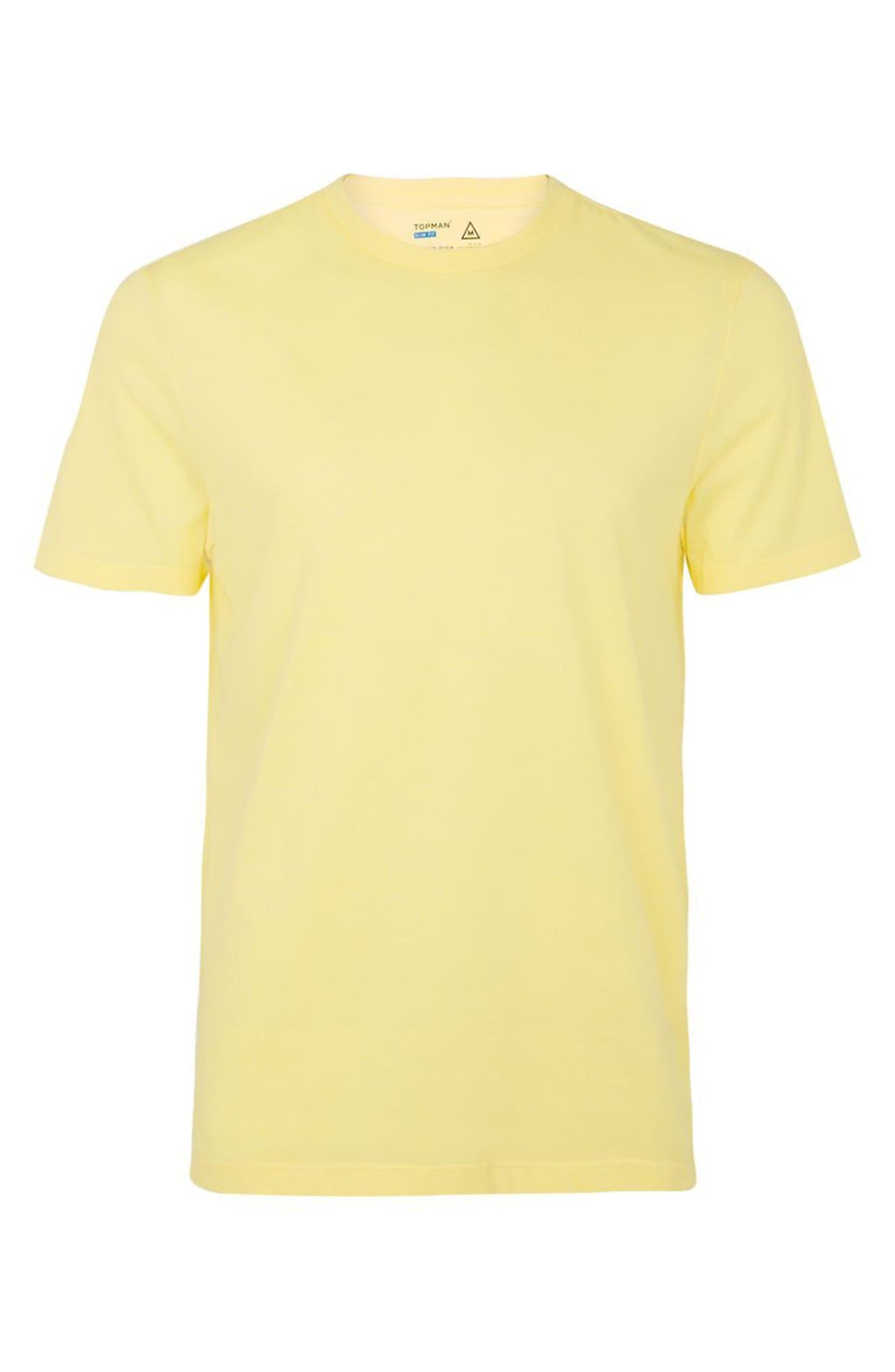 Slim Fit Crewneck T-Shirt,                             Alternate thumbnail 313, color,
