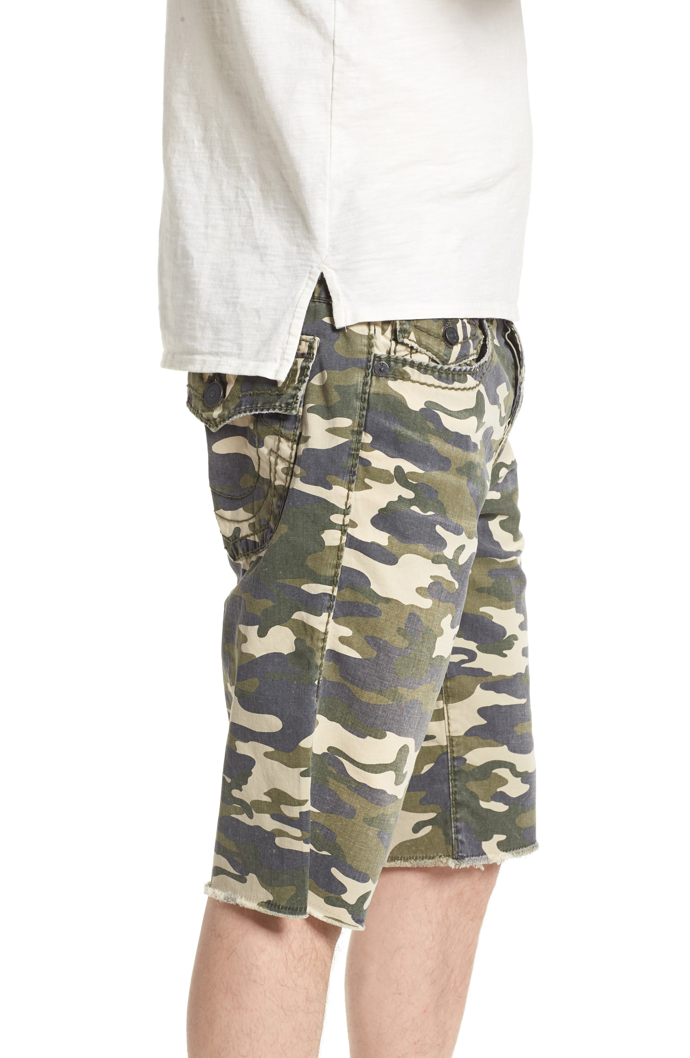 Ricky Relaxed Fit Shorts,                             Alternate thumbnail 3, color,                             TERRITORY