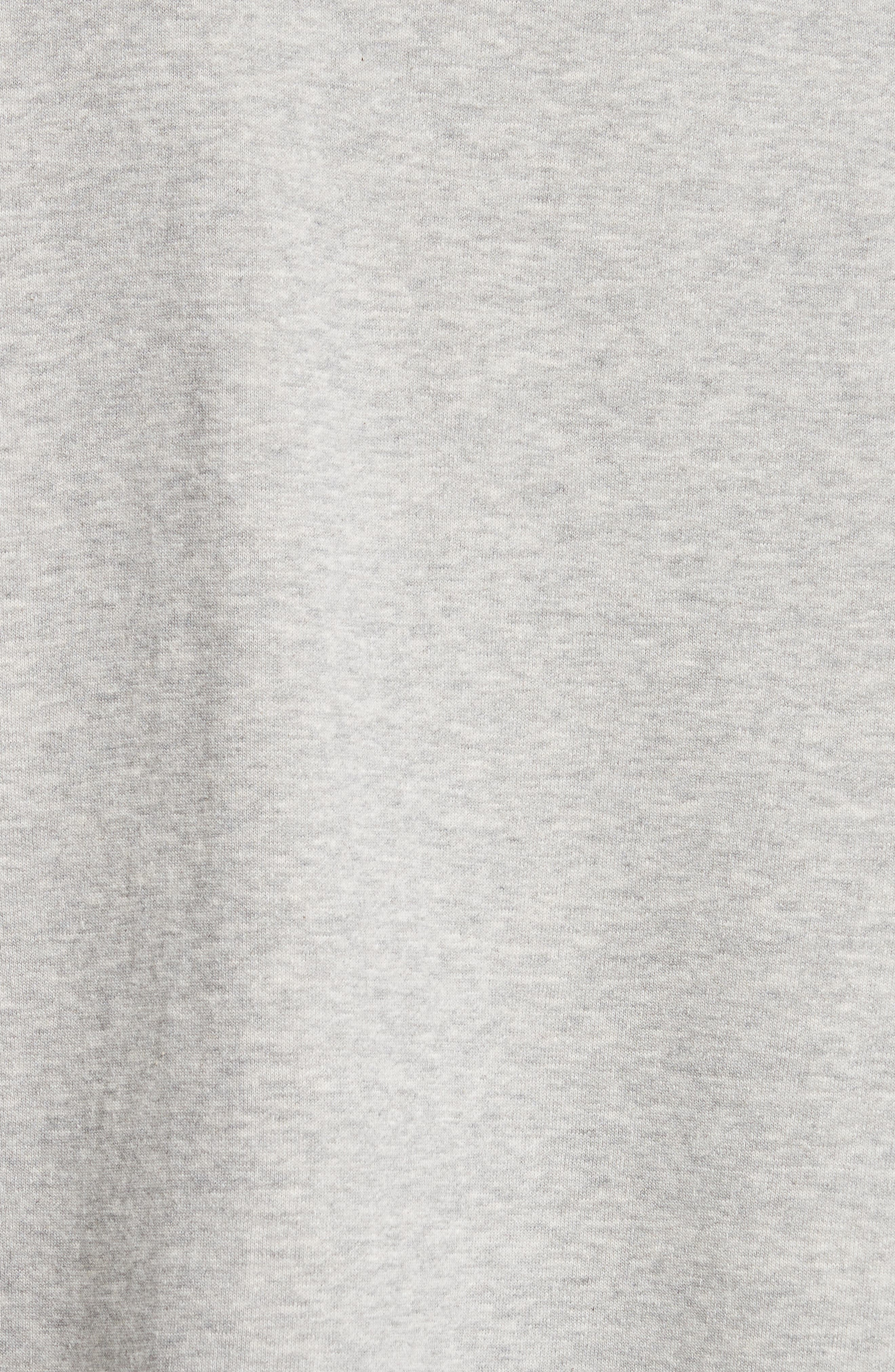 Brushed Terry Sweatshirt,                             Alternate thumbnail 5, color,                             020