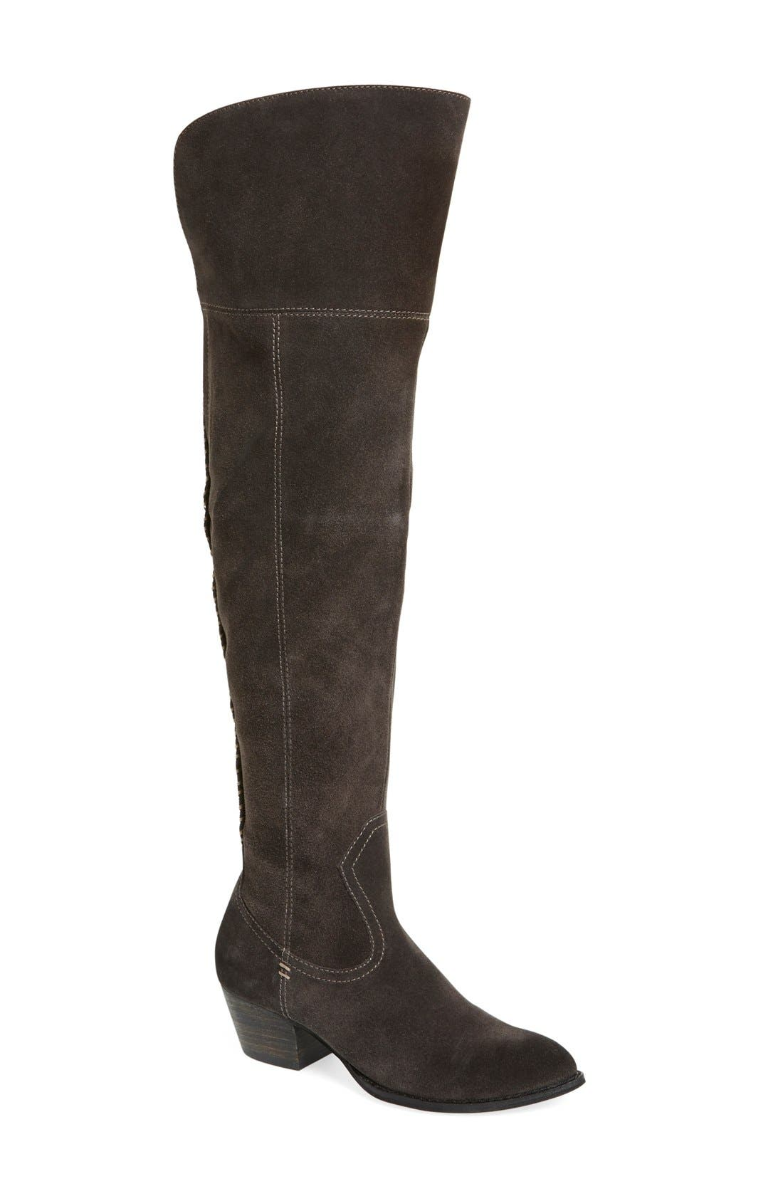 'Silas' Over the Knee Boot,                             Main thumbnail 2, color,