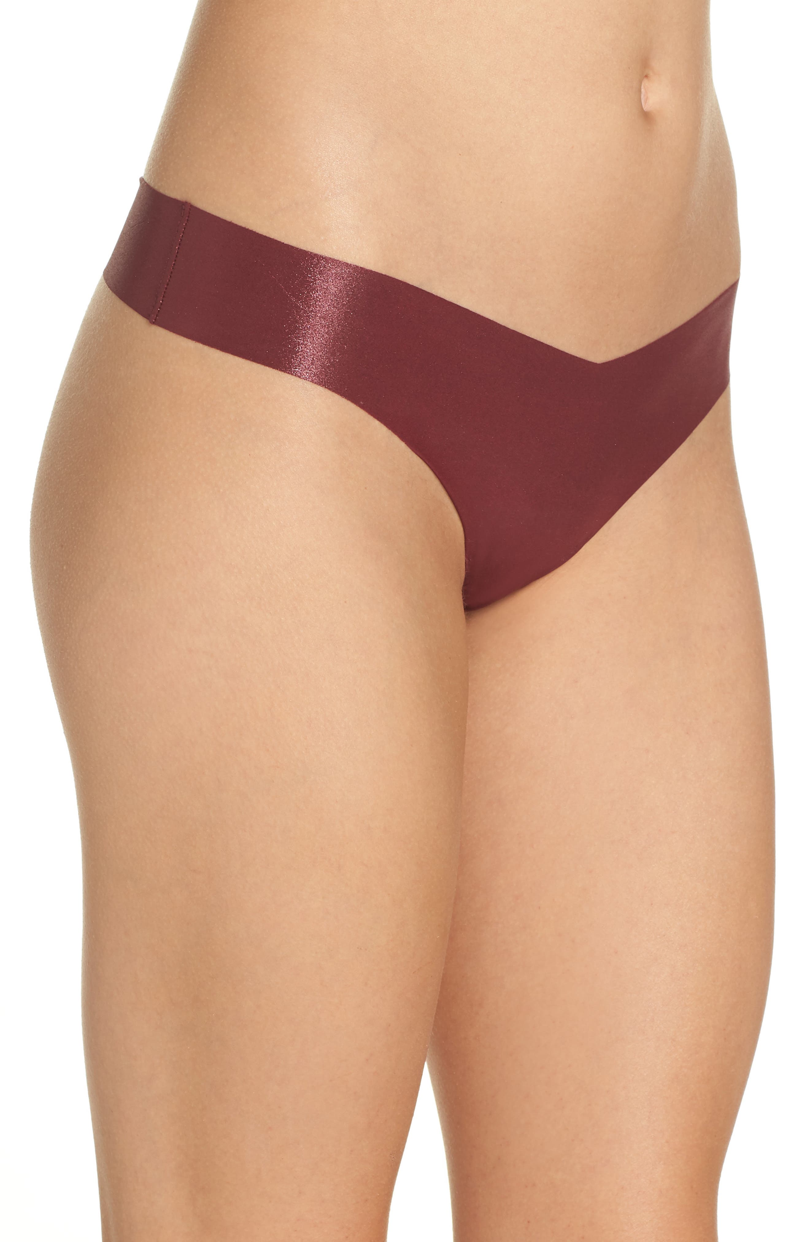 Print Microfiber Thong,                             Alternate thumbnail 196, color,