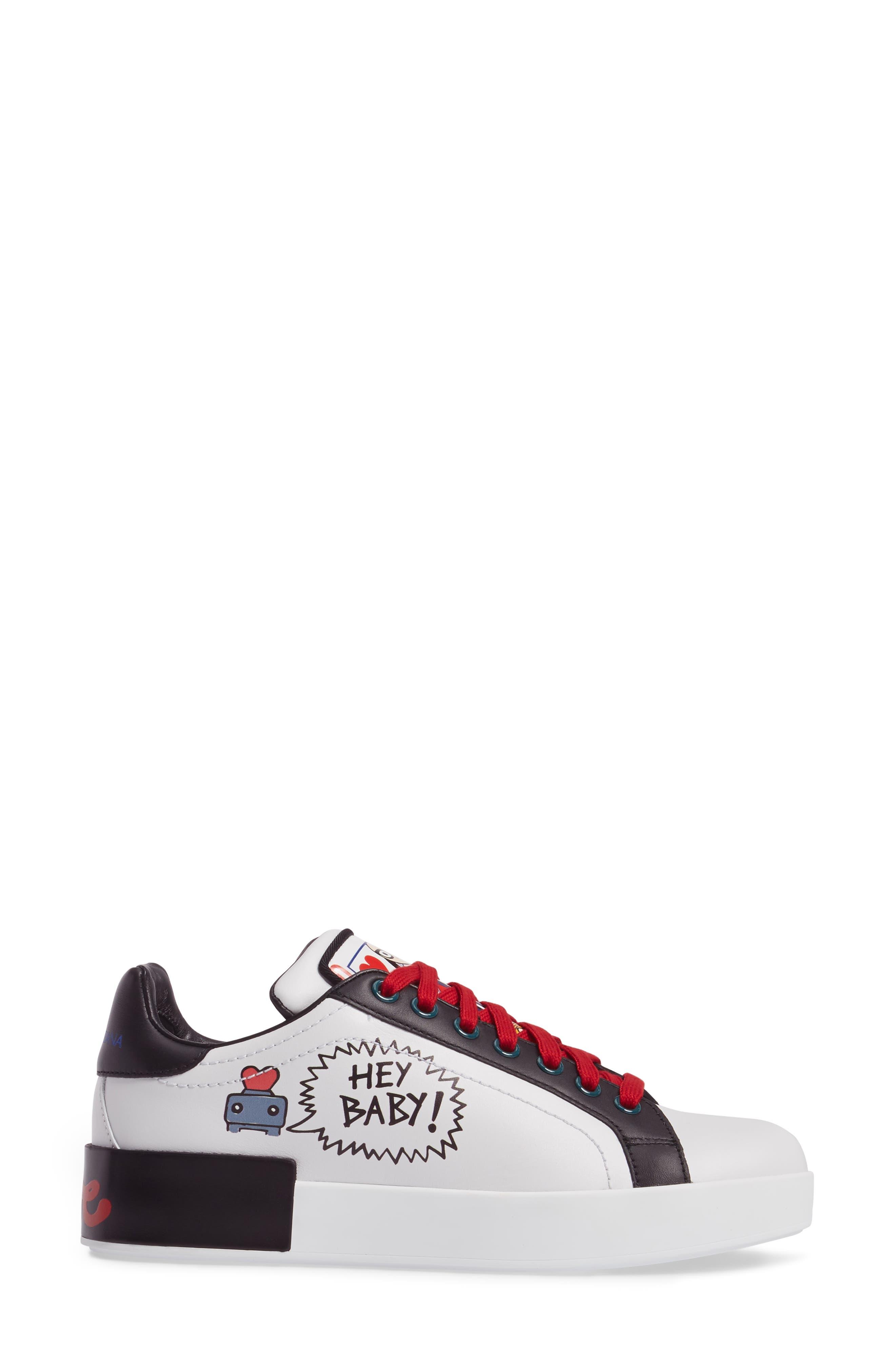 Cartoon Sneaker,                             Alternate thumbnail 3, color,                             002