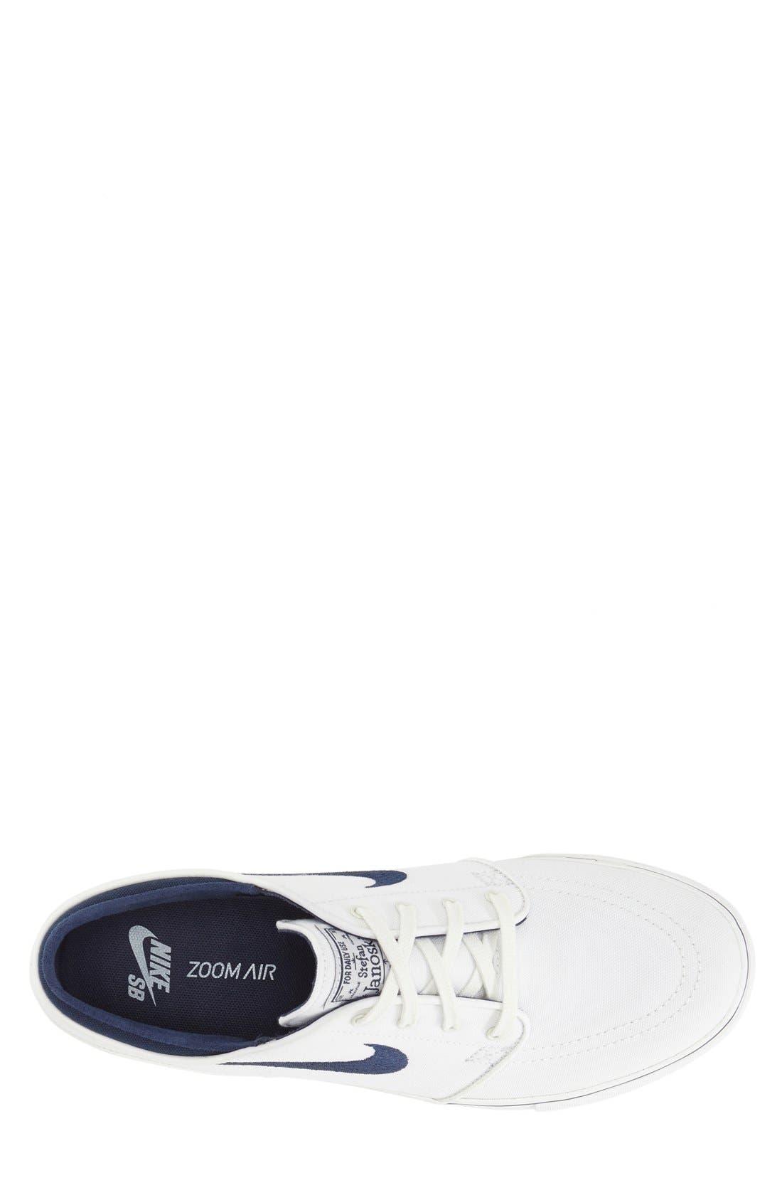 Zoom - Stefan Janoski SB Canvas Skate Shoe,                             Alternate thumbnail 111, color,