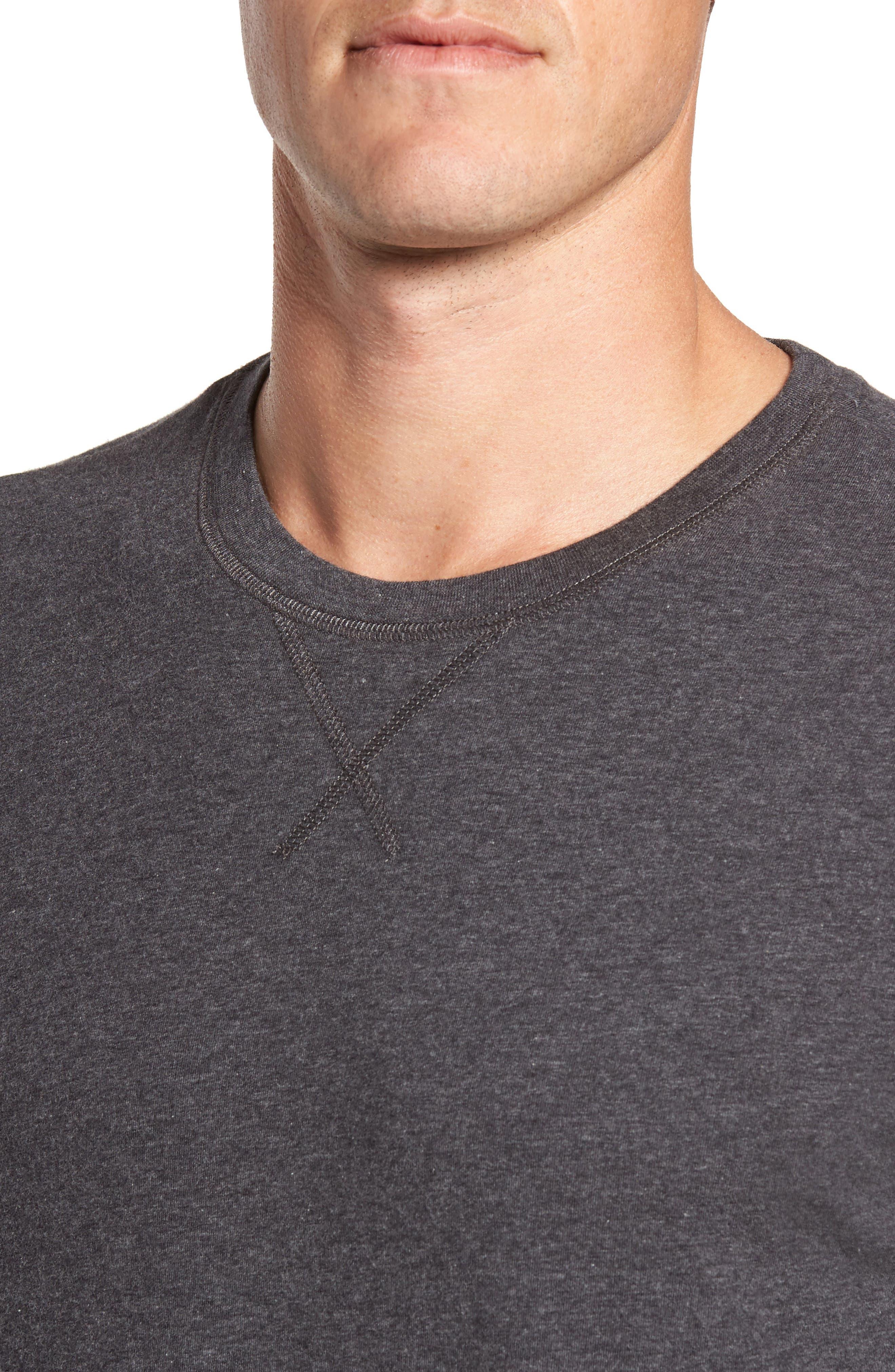 Stretch Cotton Long Sleeve T-Shirt,                             Alternate thumbnail 14, color,