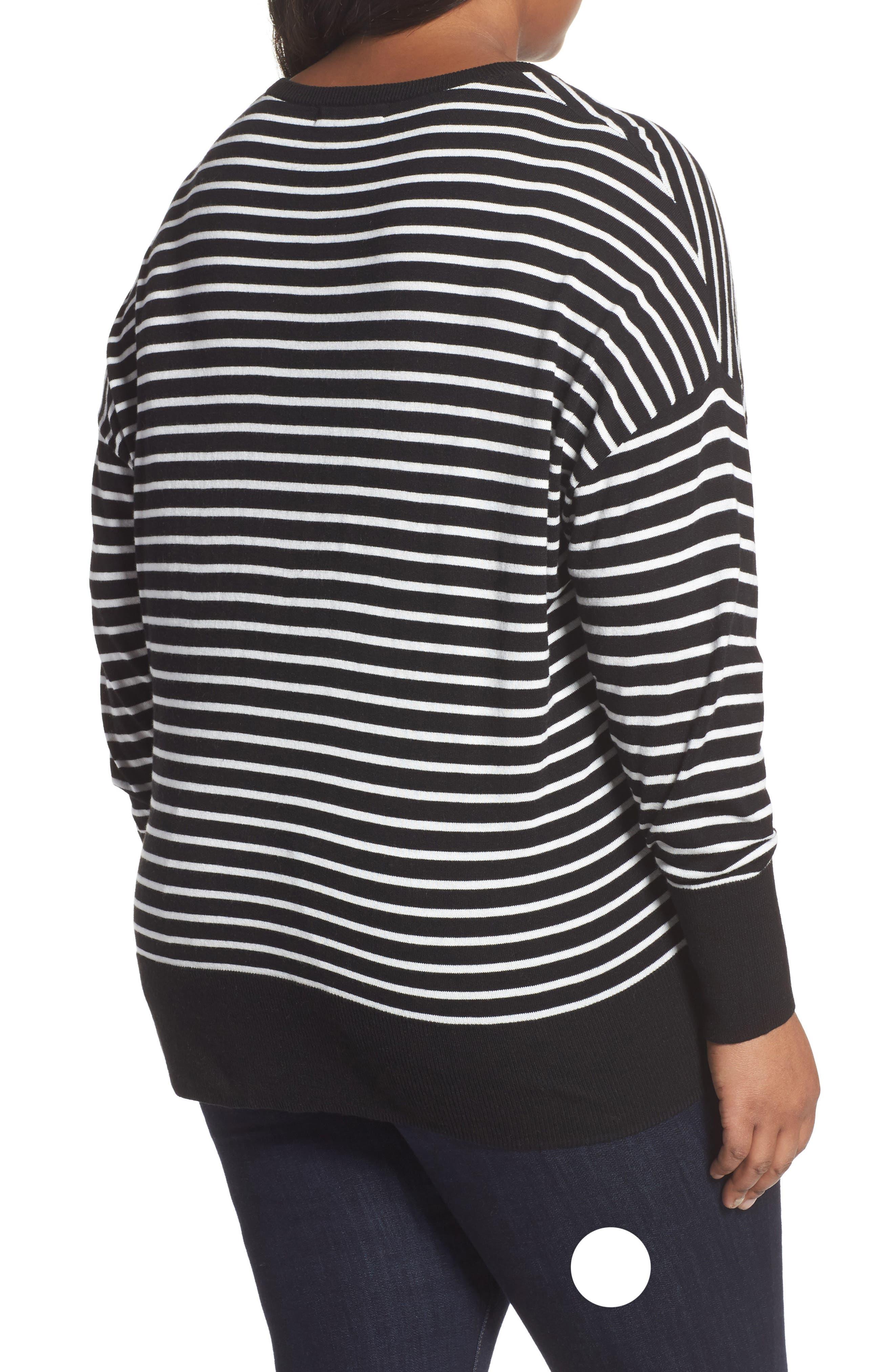 Dolman Sleeve Crewneck Sweater,                             Alternate thumbnail 2, color,                             002