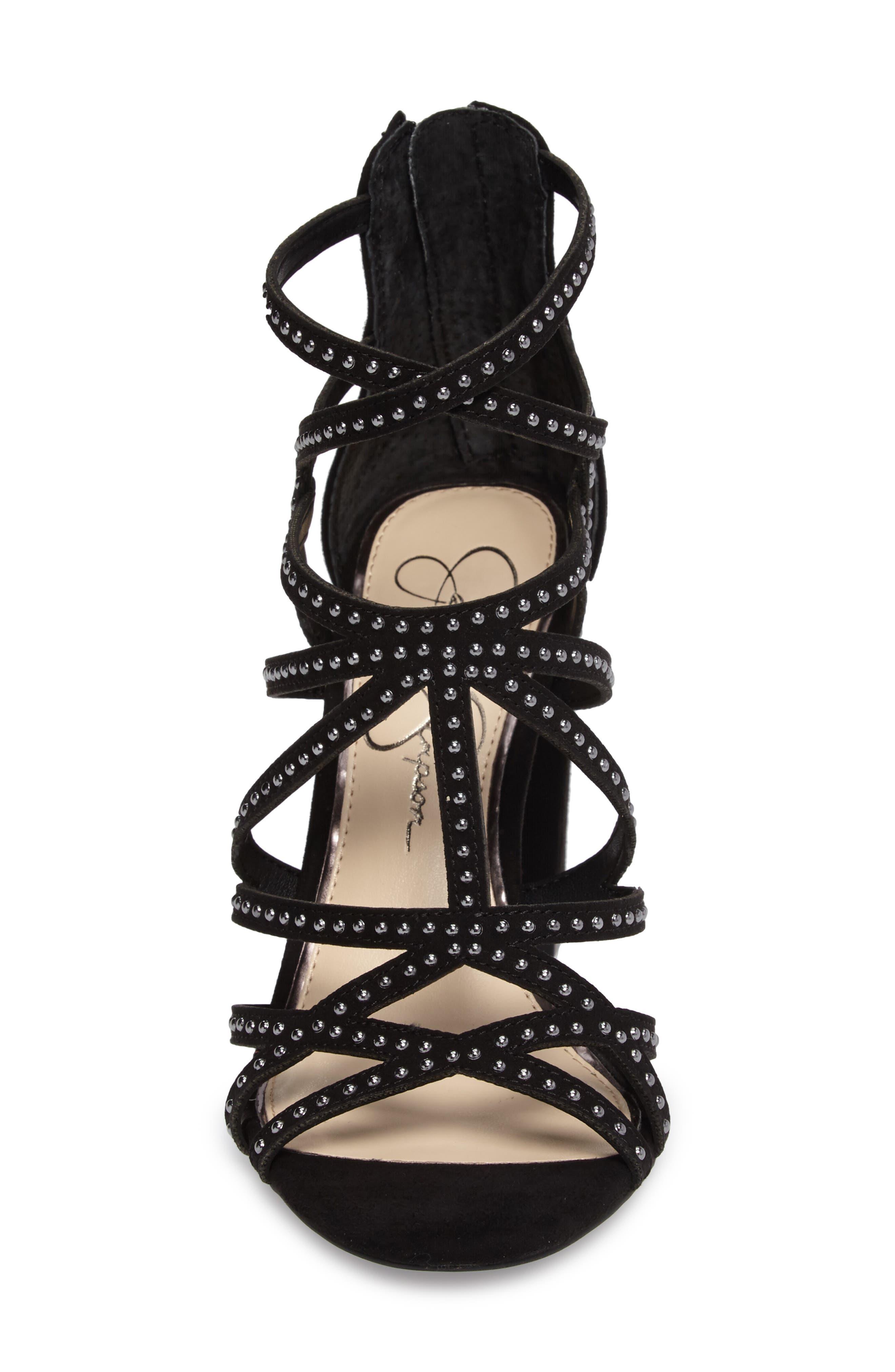 Emmi Block Heel Sandal,                             Alternate thumbnail 4, color,