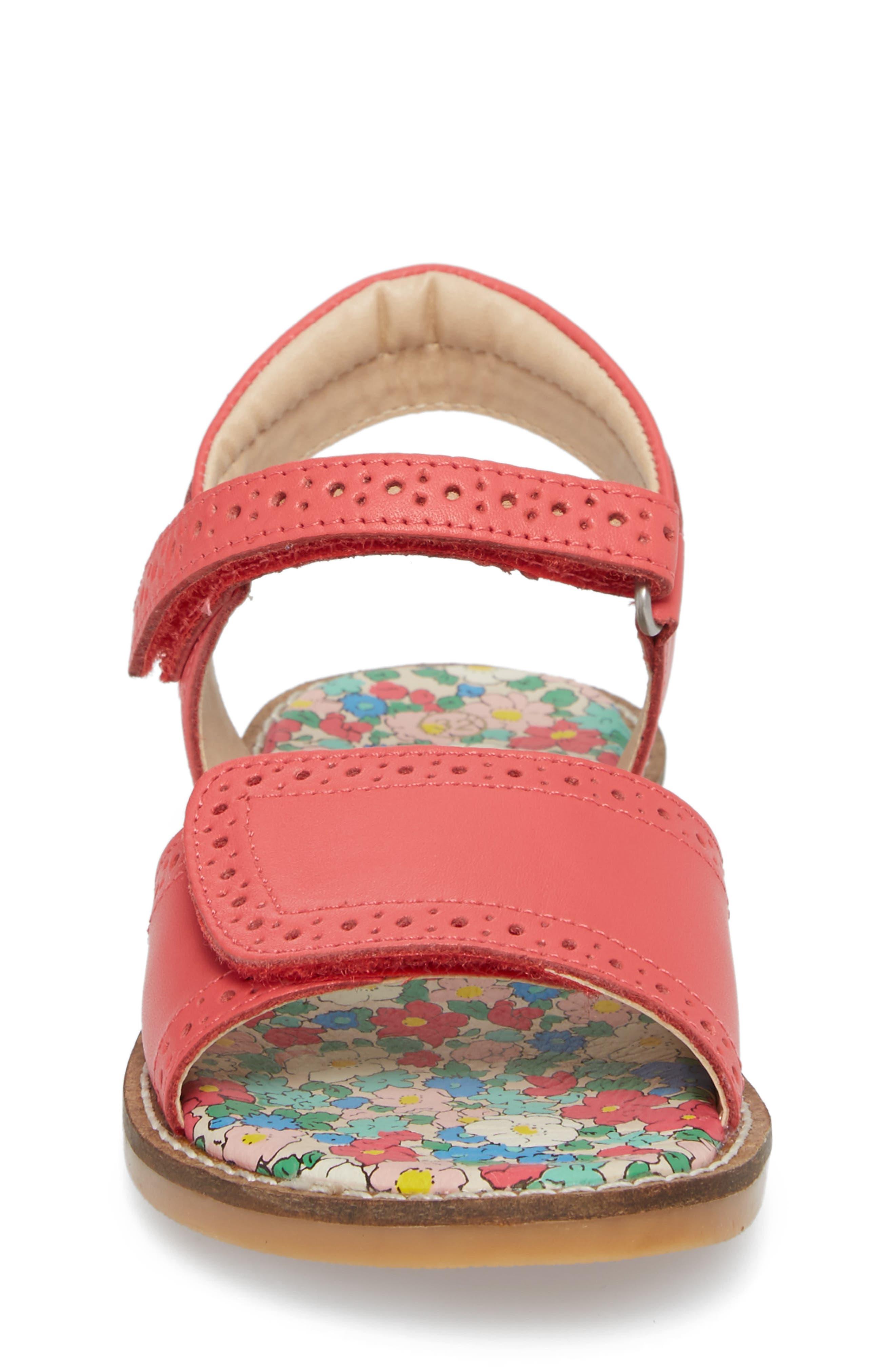 Adjustable Quarter Strap Sandal,                             Alternate thumbnail 8, color,