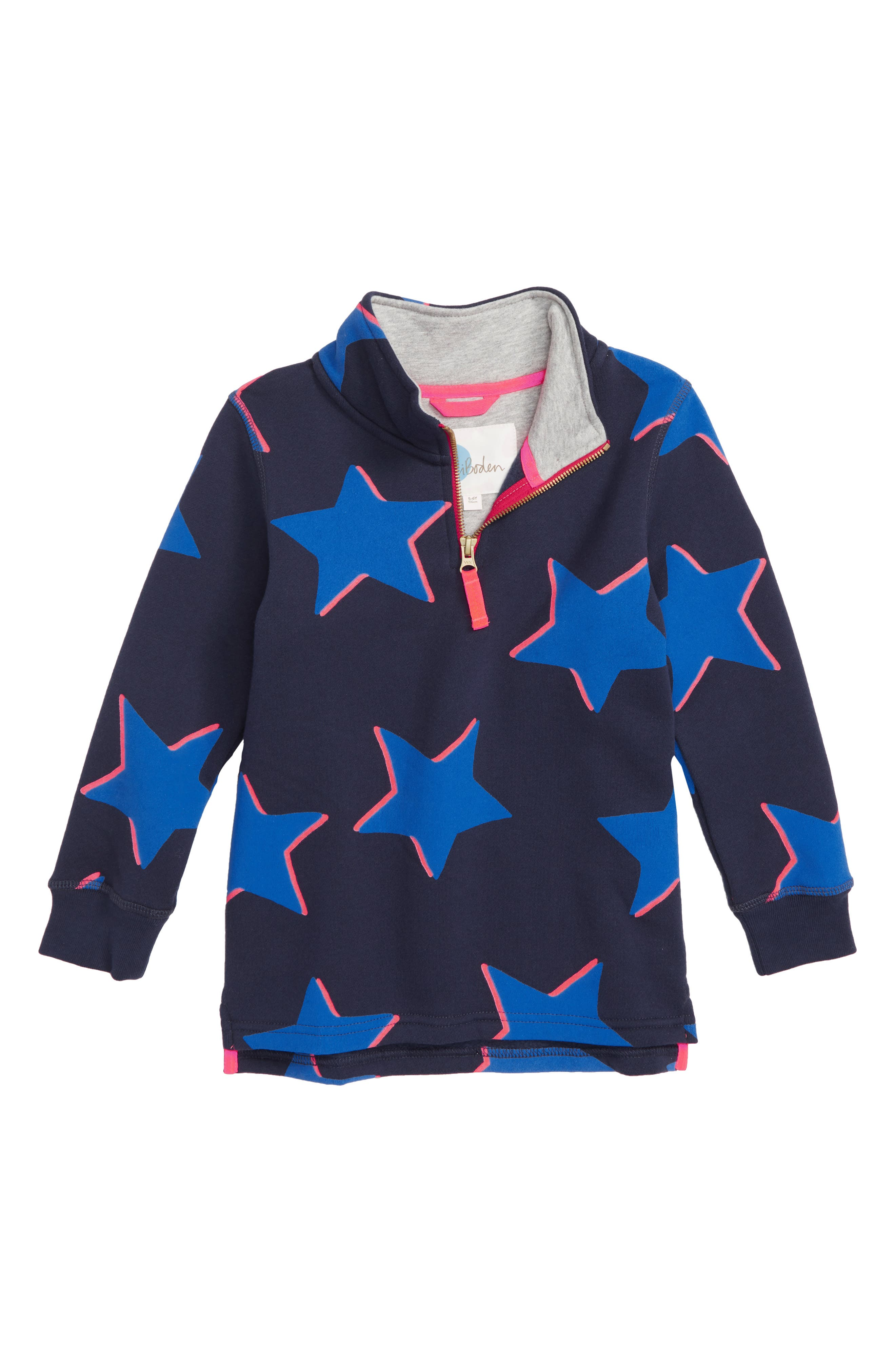 Shadow Star Half Zip Sweatshirt,                         Main,                         color, 414
