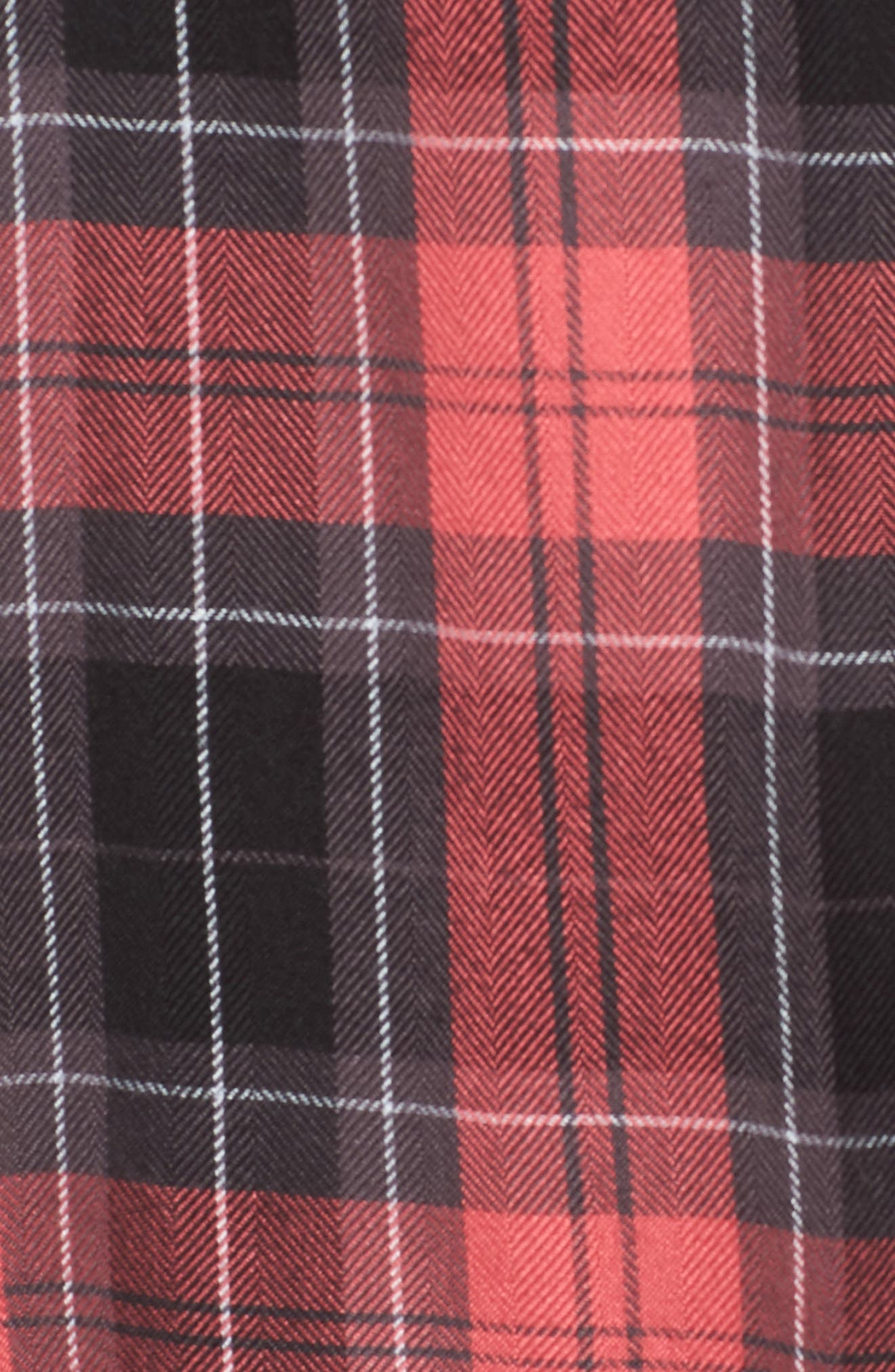 Hunter Plaid Shirt,                             Alternate thumbnail 7, color,                             601