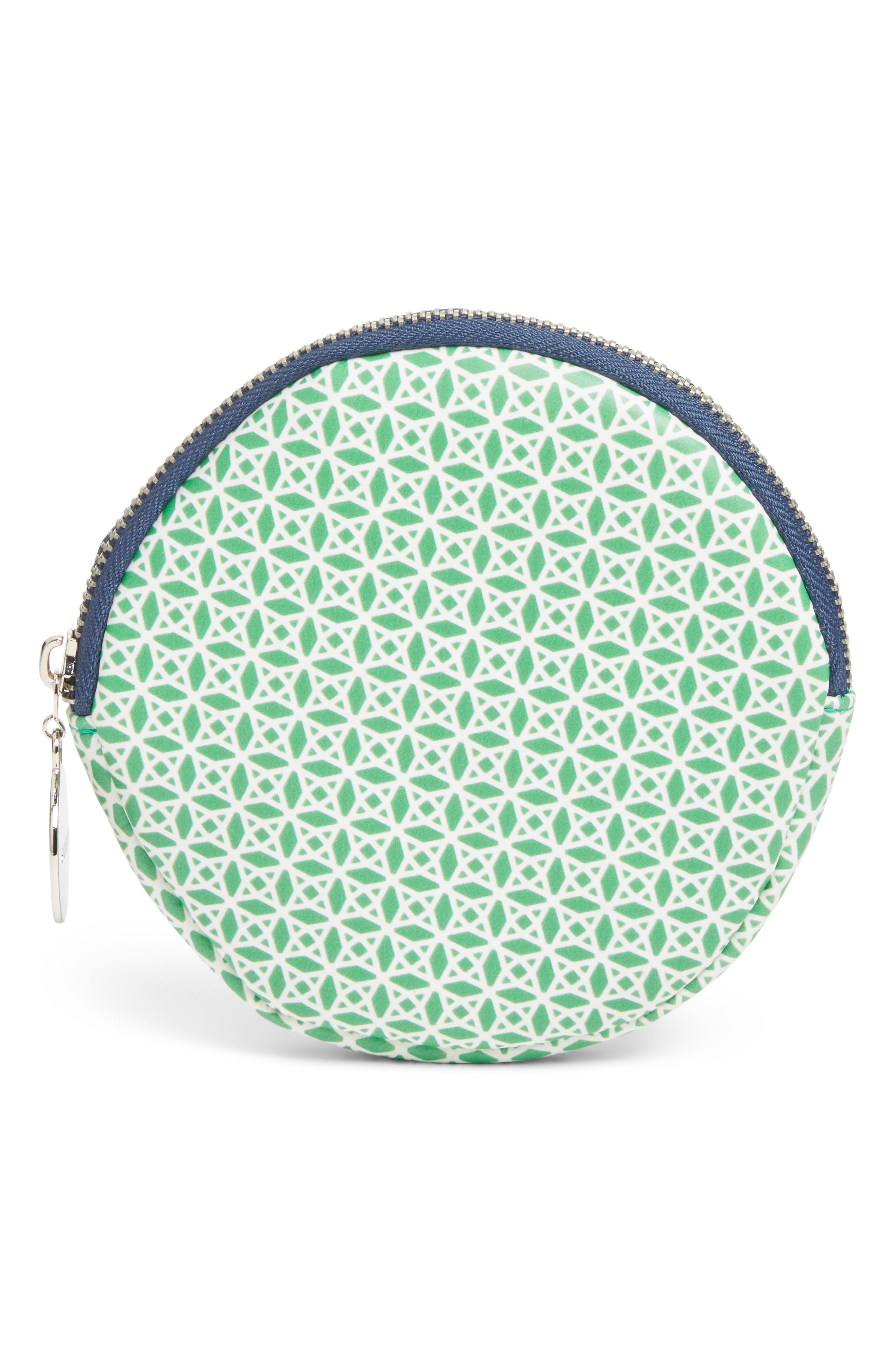 Round Cosmetics Bag, Main, color, 300
