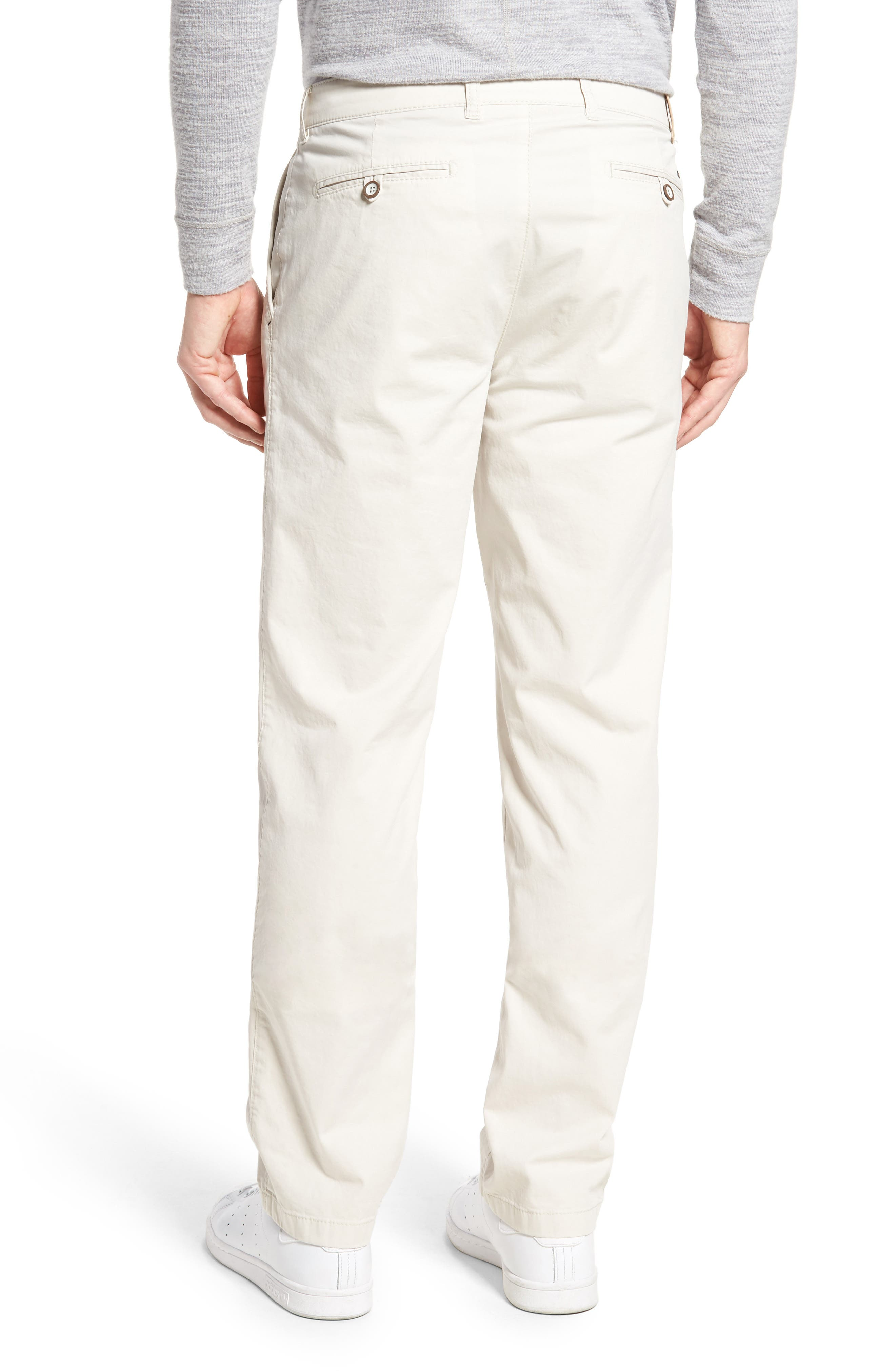 Everest Flat Front Chinos,                             Alternate thumbnail 3, color,