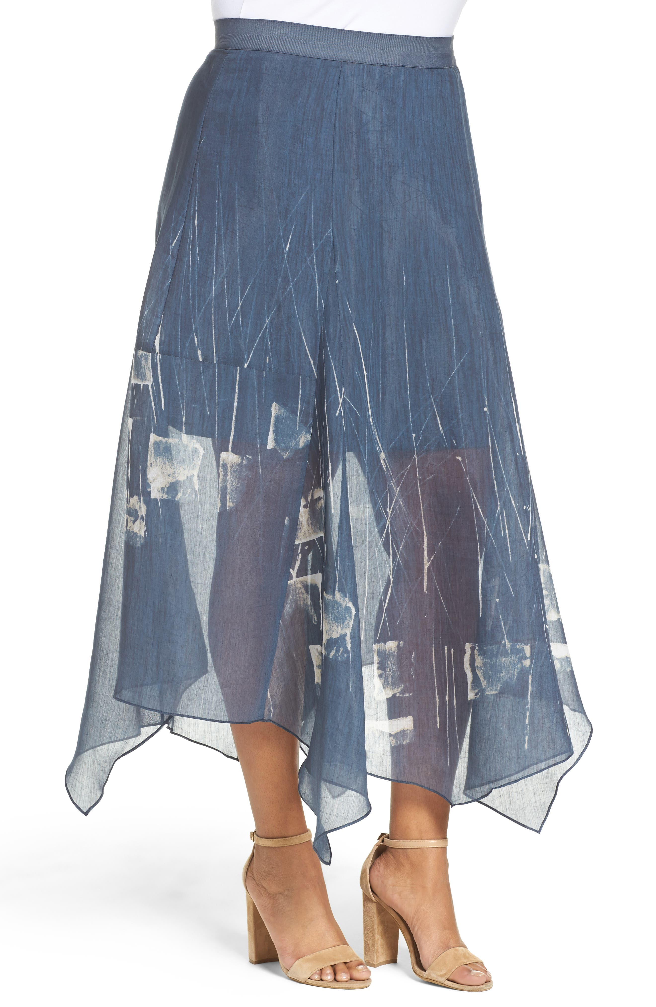 Spring Tide Maxi Skirt,                             Alternate thumbnail 3, color,                             MULTI
