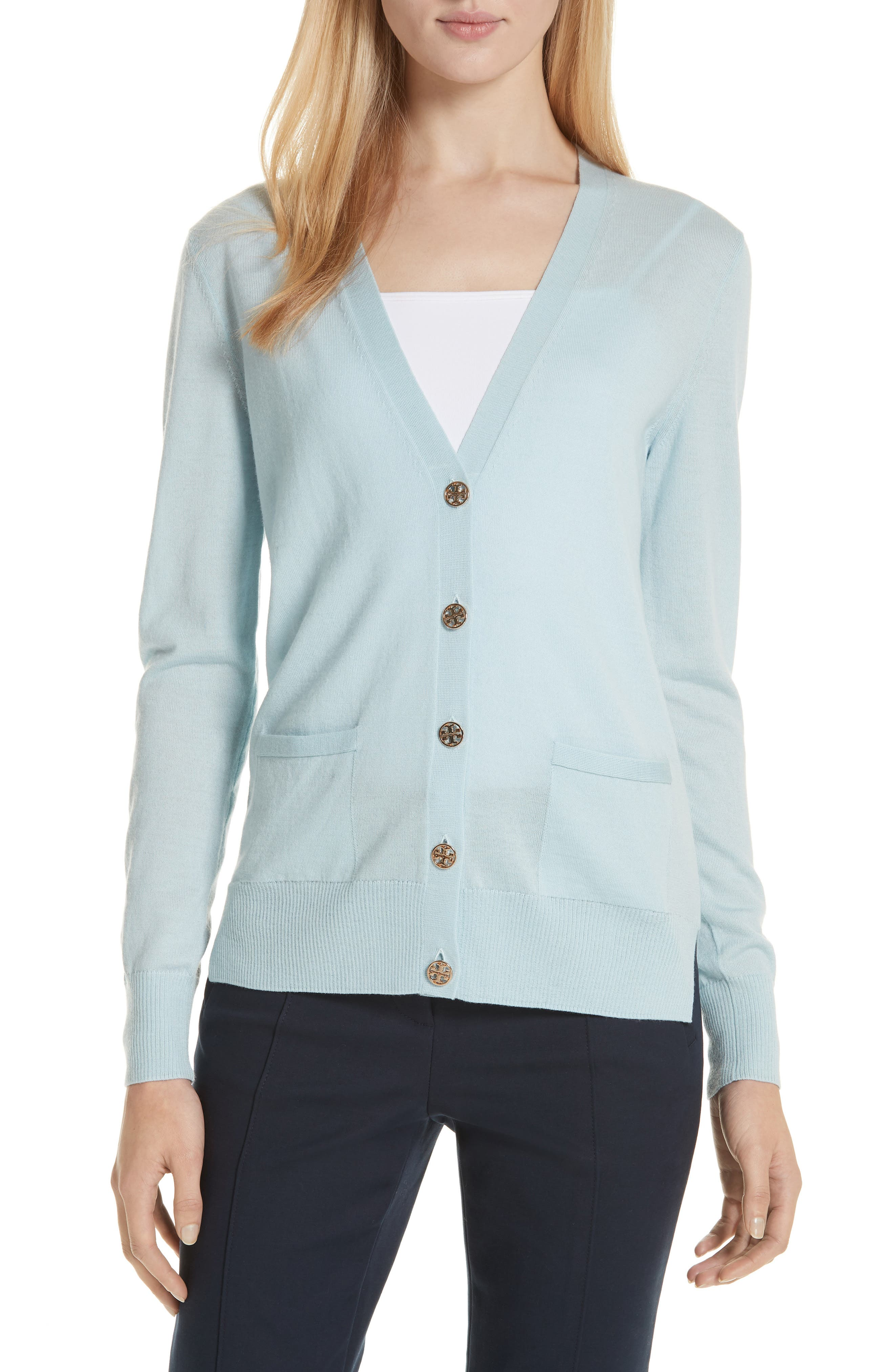 Madeline Merino Wool Cardigan,                         Main,                         color, 414