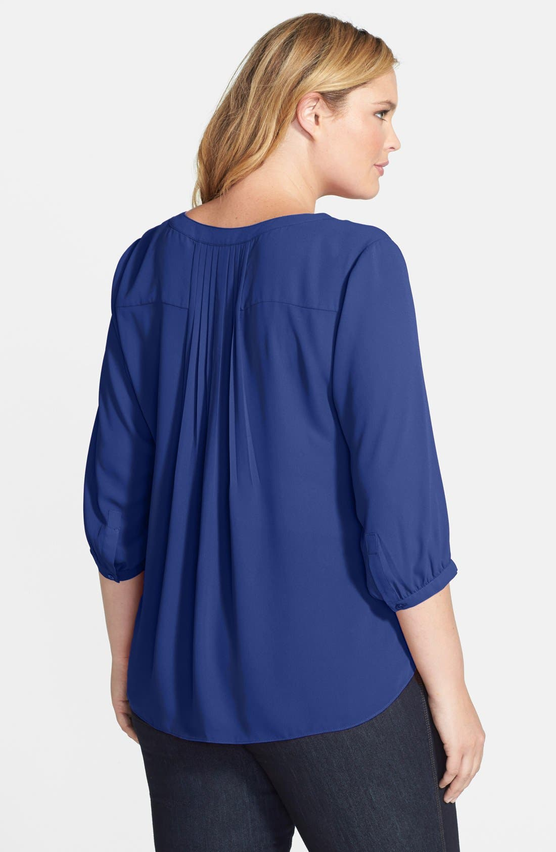 Henley Top,                             Alternate thumbnail 135, color,