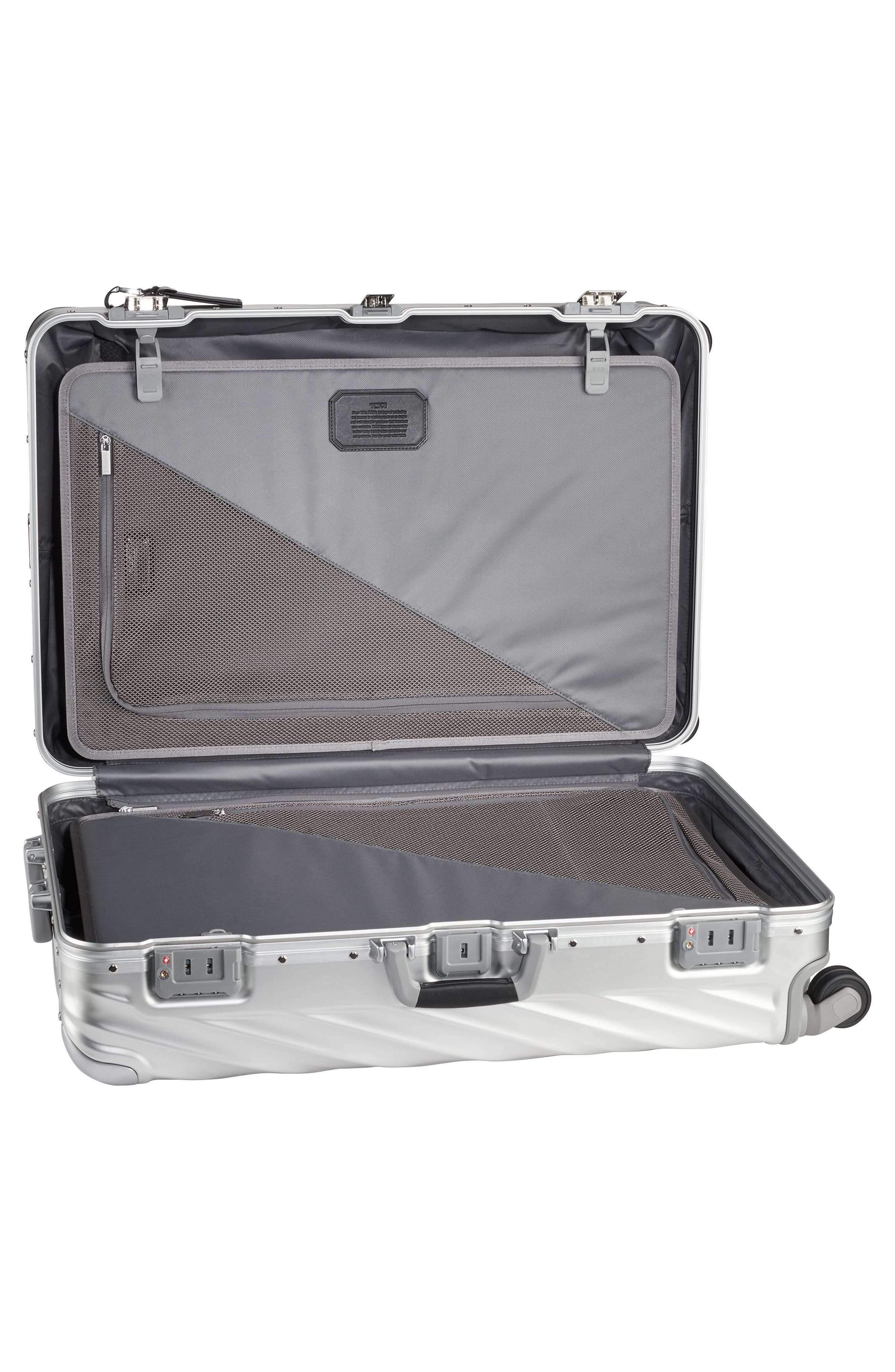 TUMI,                             19 Degree 31-Inch Extended Trip Wheeled Aluminum Packing Case,                             Alternate thumbnail 6, color,                             SILVER
