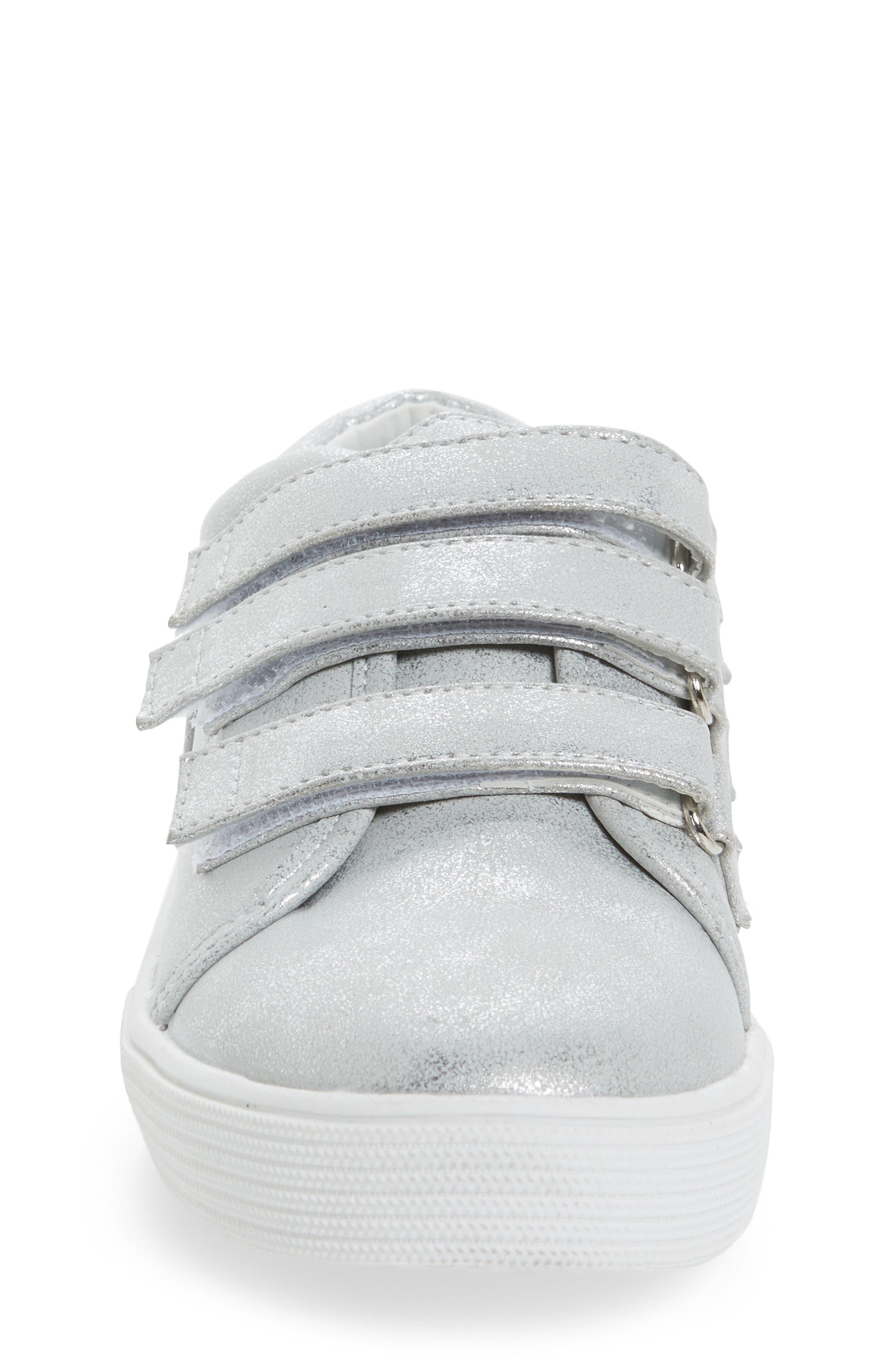 Kam Glitter Strap Sneaker,                             Alternate thumbnail 4, color,                             040