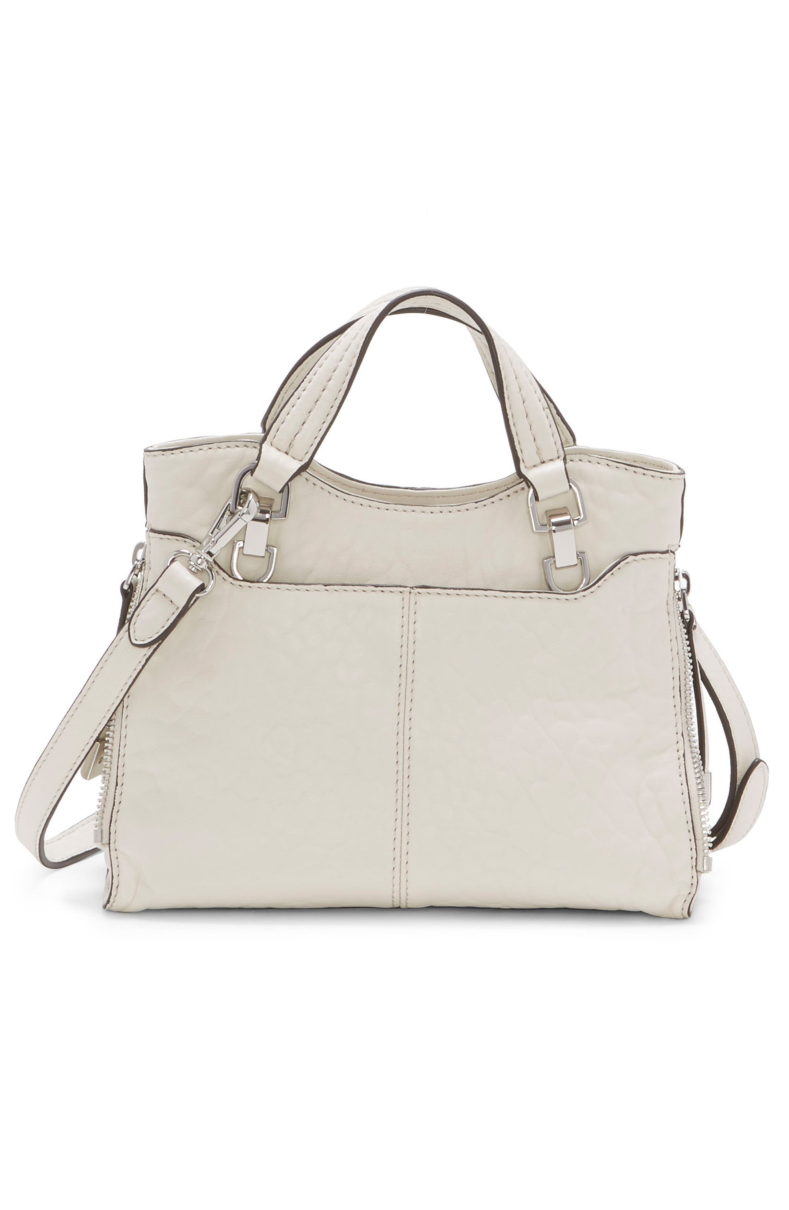 Small Riley Leather Tote,                             Alternate thumbnail 5, color,
