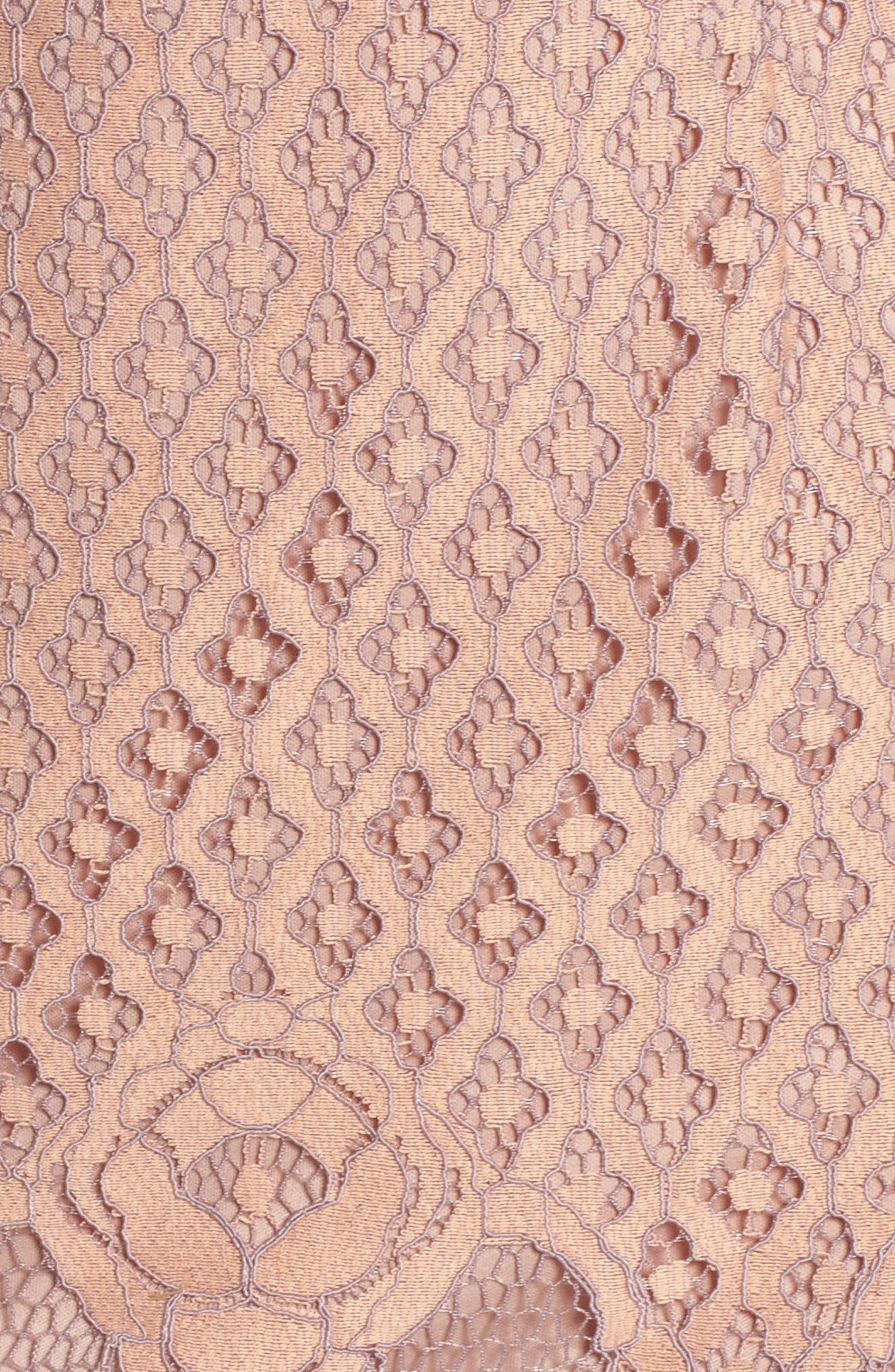 Lace Sheath Dress,                             Alternate thumbnail 5, color,                             950