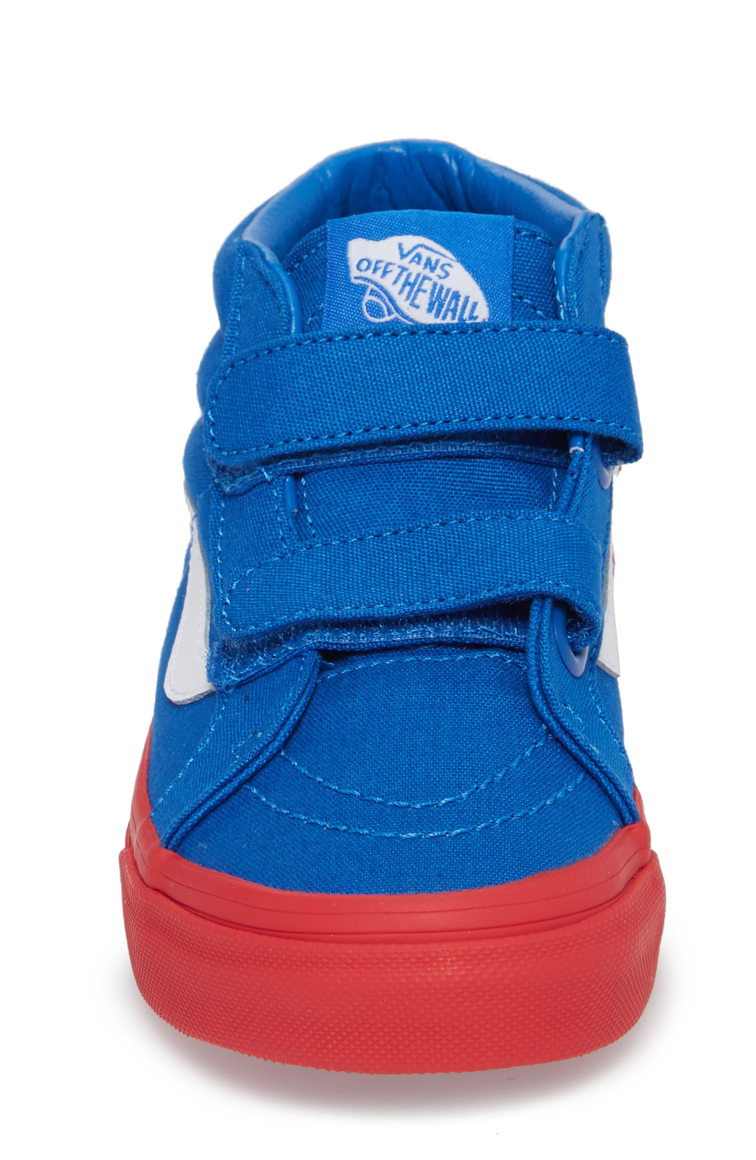 VANS,                             Sk8-Mid Reissue Sneaker,                             Alternate thumbnail 4, color,                             420