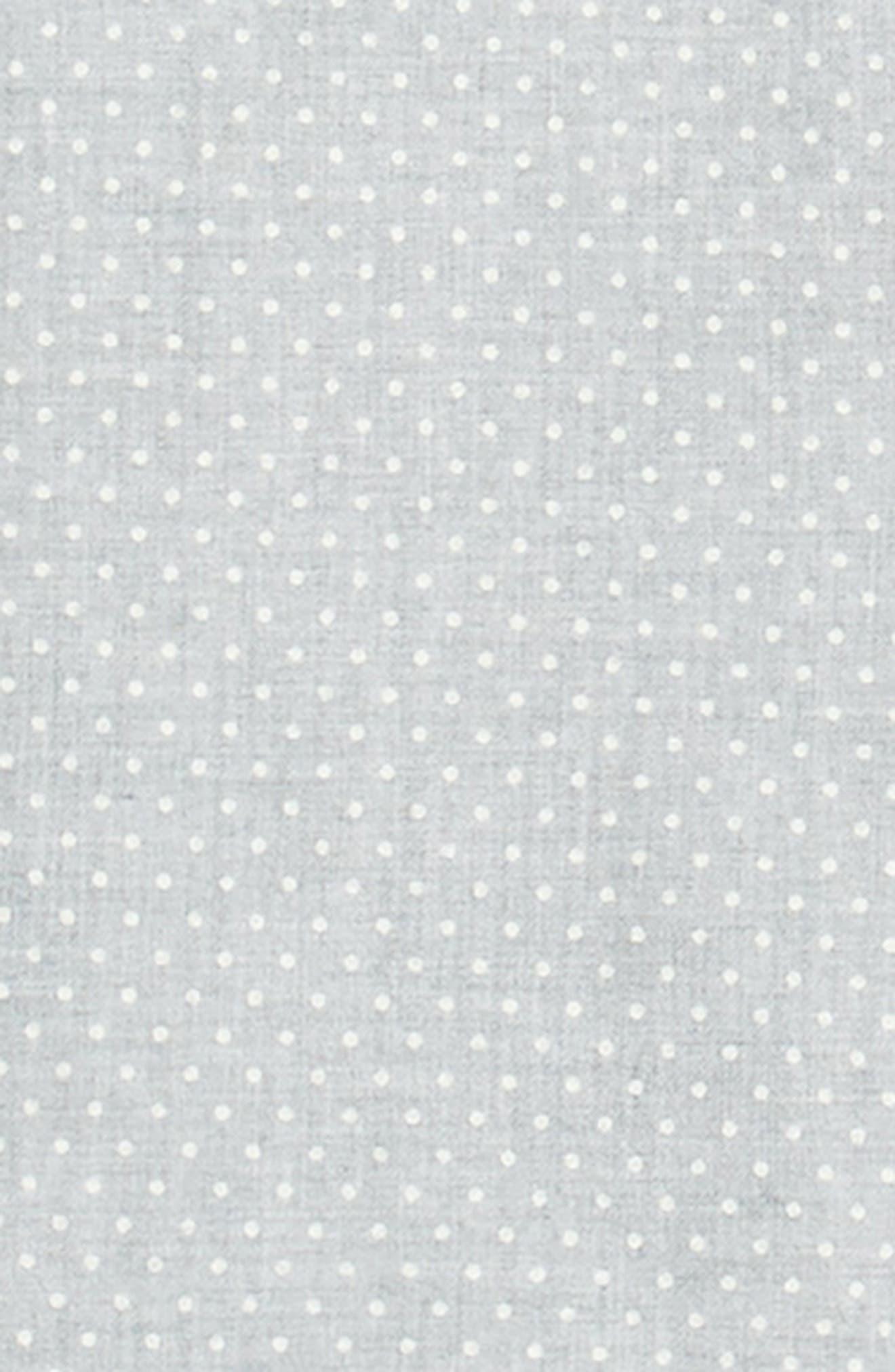 Polka Dot Cotton Flannel Sport Shirt,                             Alternate thumbnail 6, color,                             030