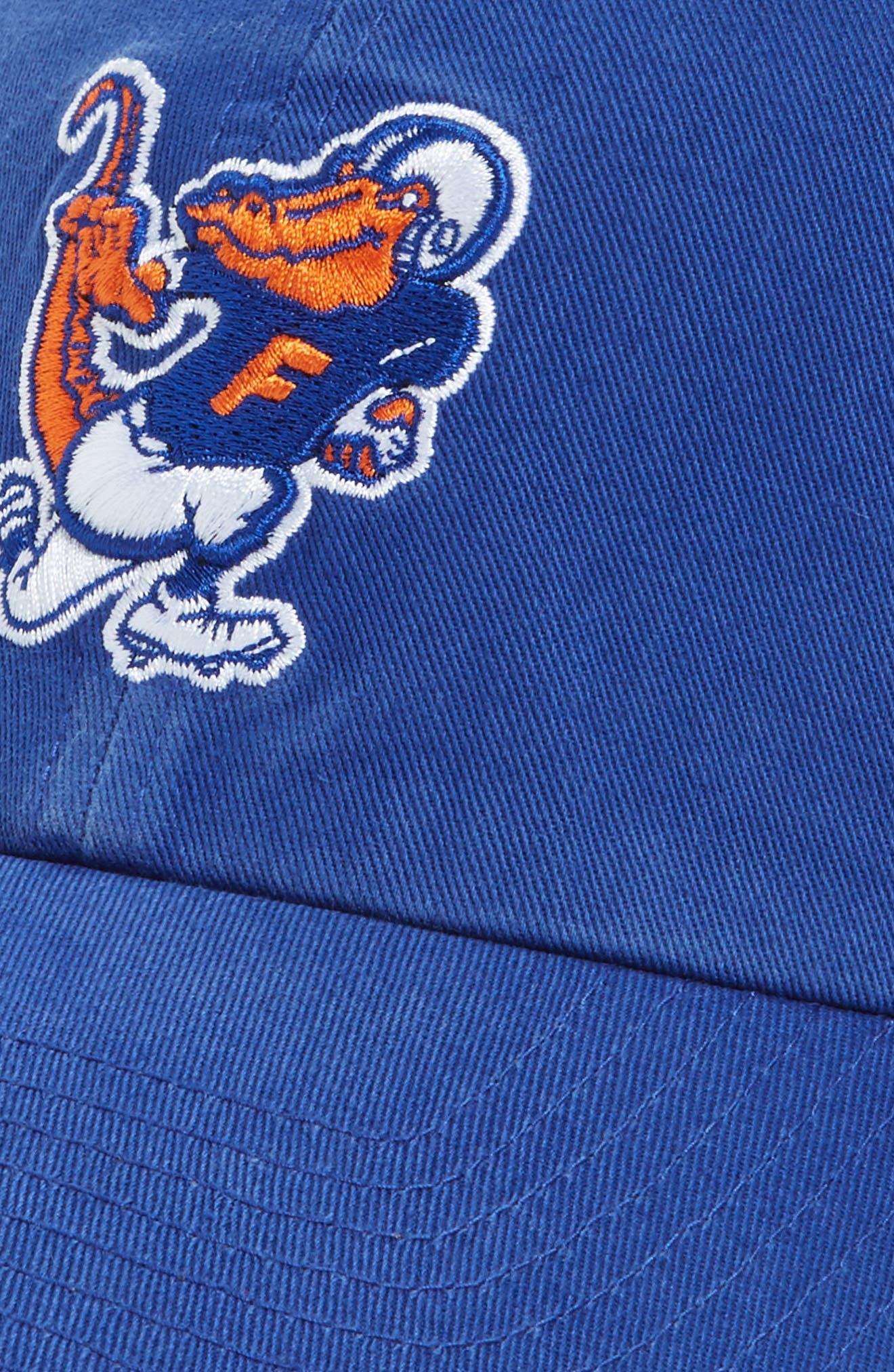Florida Gators Clean-Up Baseball Cap,                             Alternate thumbnail 3, color,                             402