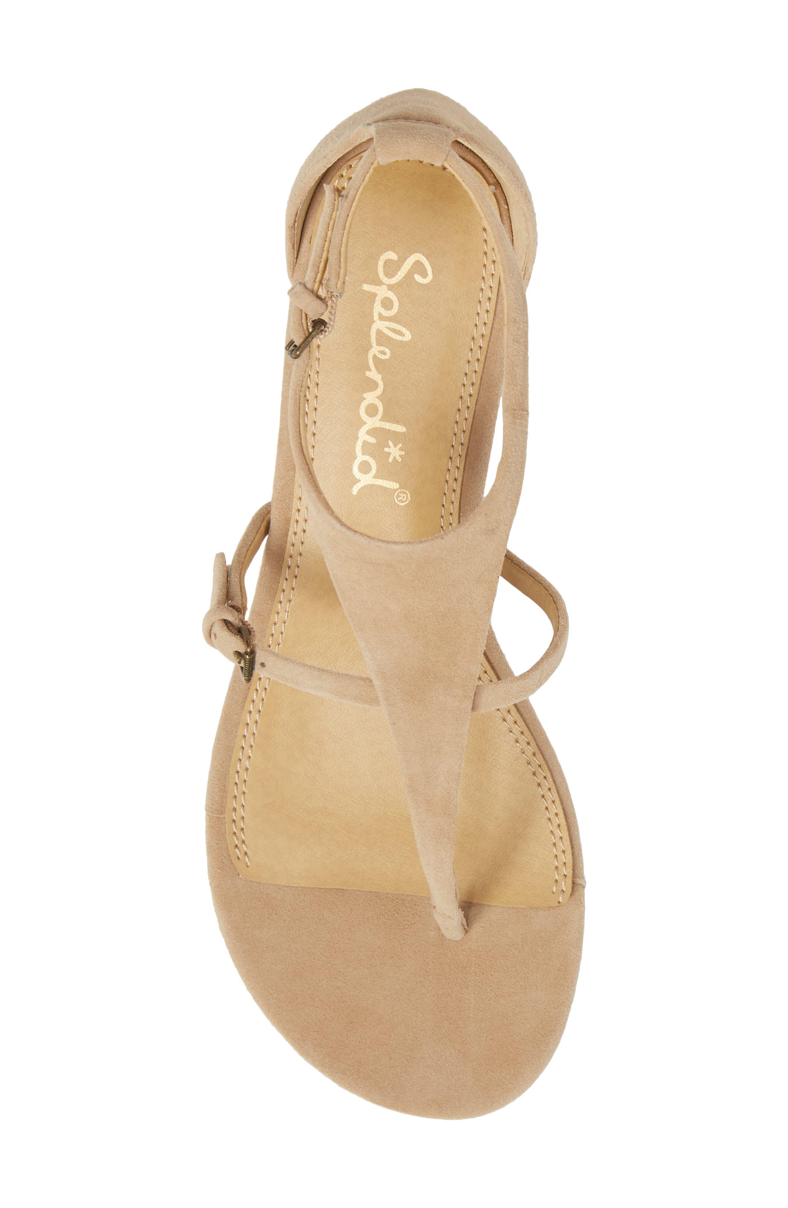 Brooklyn V-Strap Wedge Sandal,                             Alternate thumbnail 18, color,