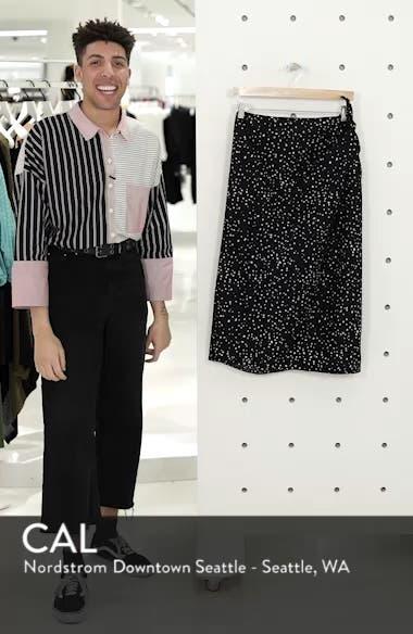 Faux Sarong Organic Cotton Skirt, sales video thumbnail