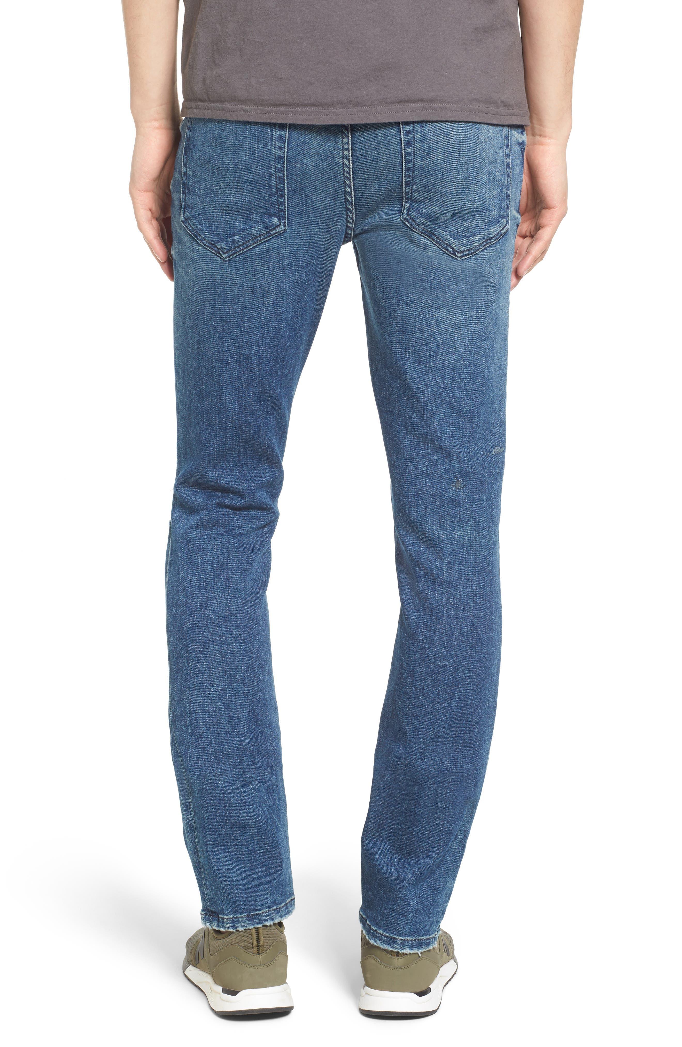 Slim Skinny Fit Jeans,                             Alternate thumbnail 2, color,