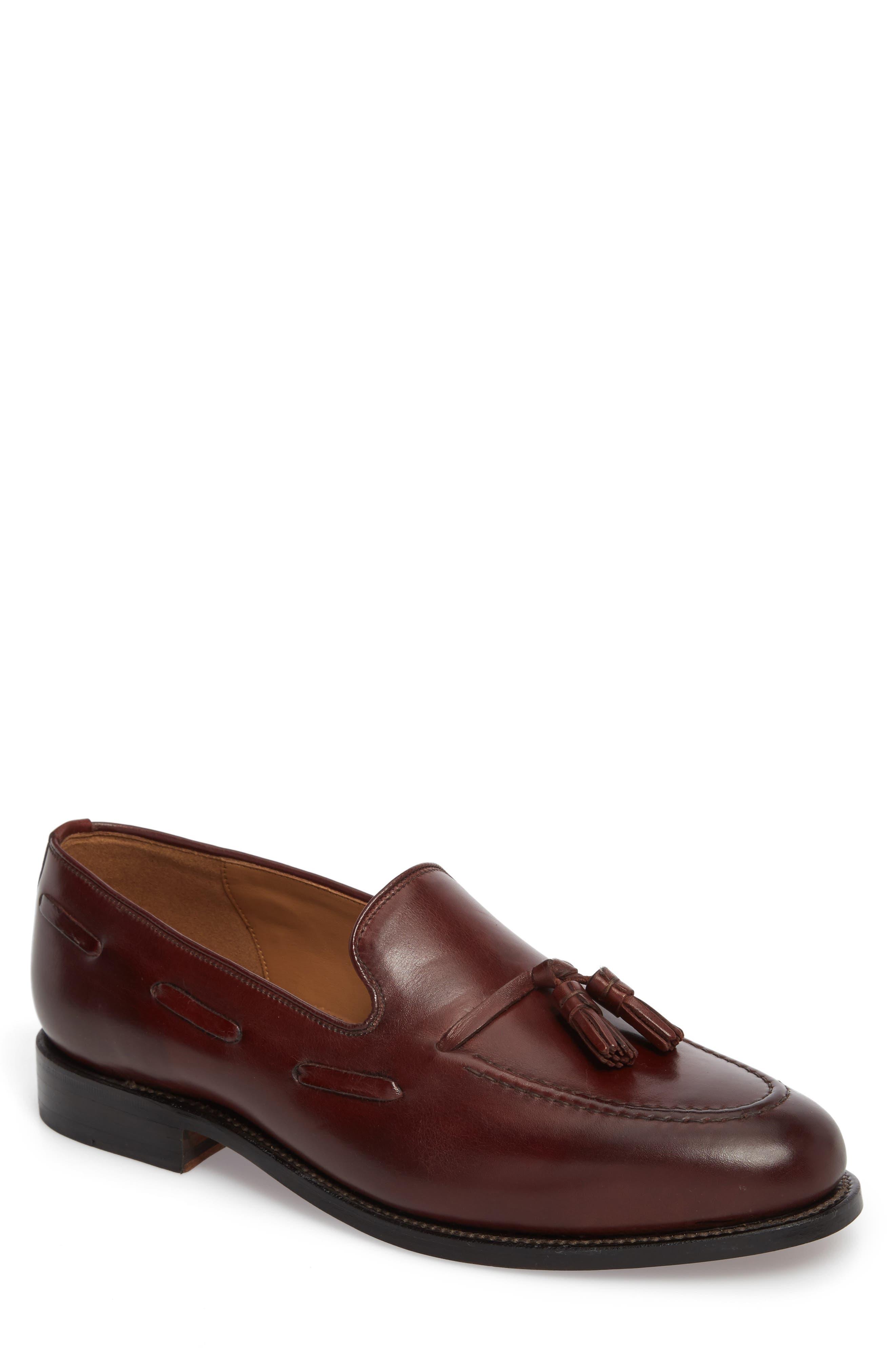 Berkeley Tassel Loafer,                         Main,                         color, BURGUNDY