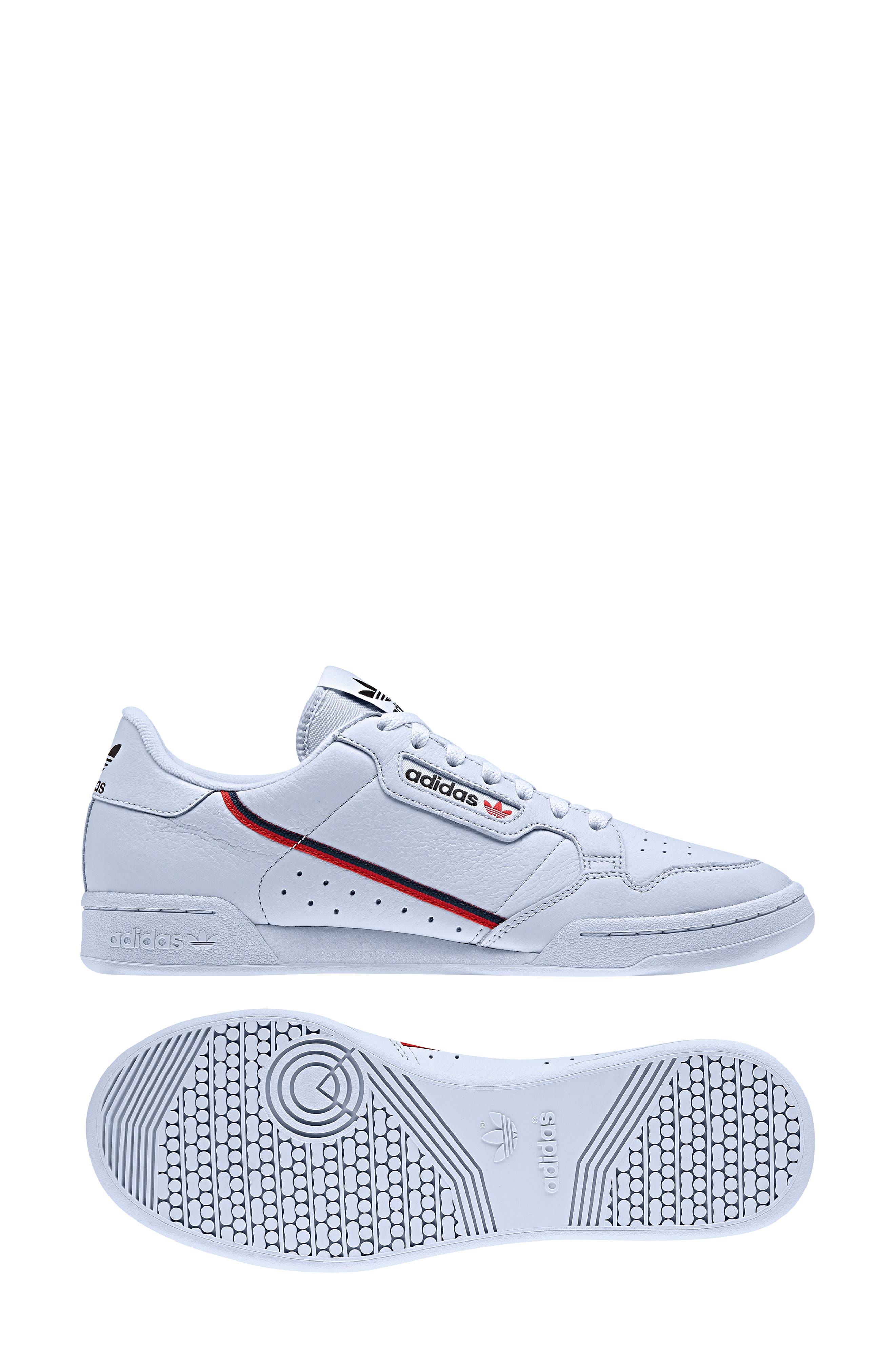 Continental 80 Sneaker,                             Alternate thumbnail 9, color,                             AERO BLUE/ SCARLET/ NAVY