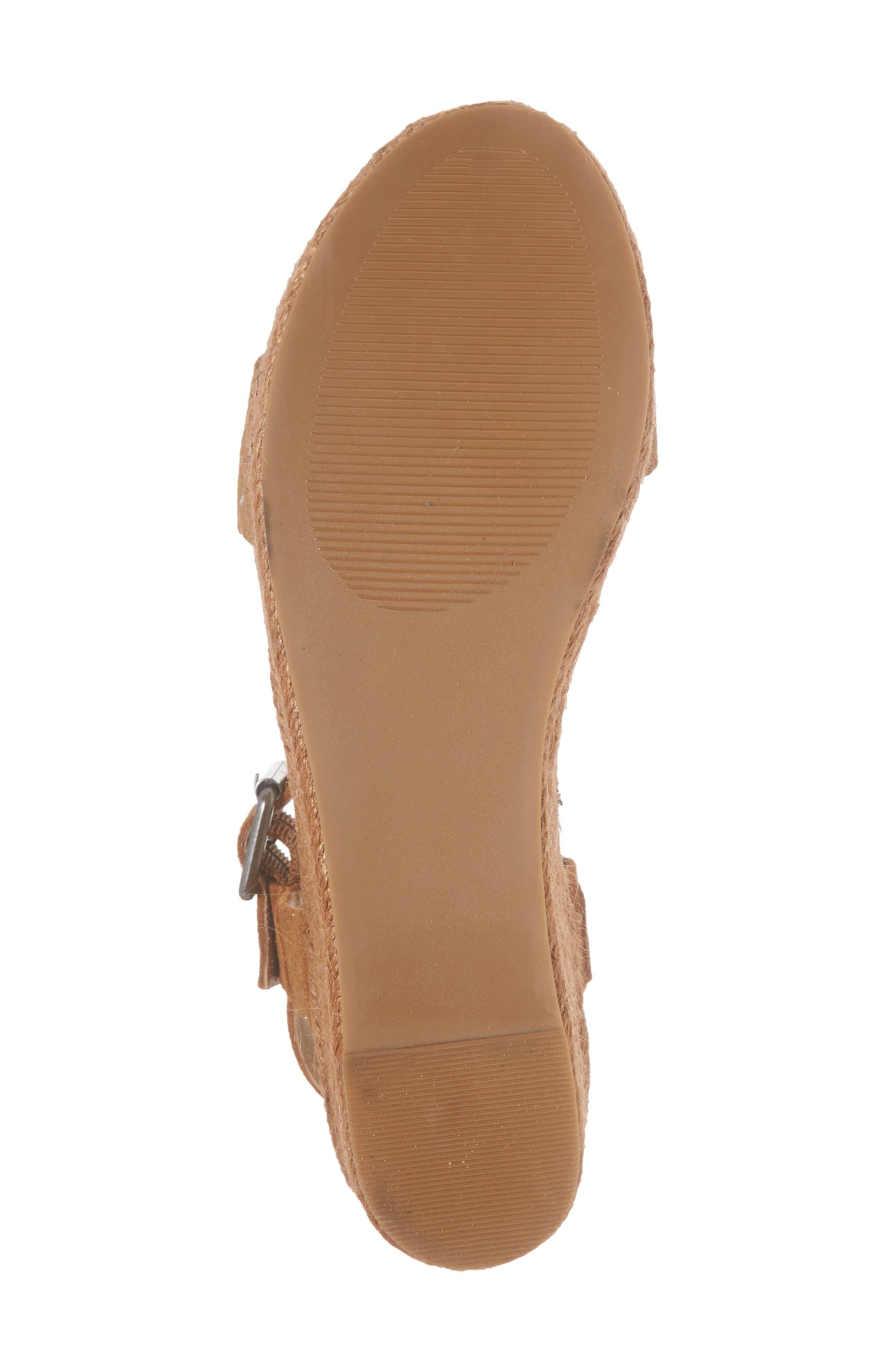 Amuse Society x Matisse Siena Wedge Sandal,                             Alternate thumbnail 17, color,