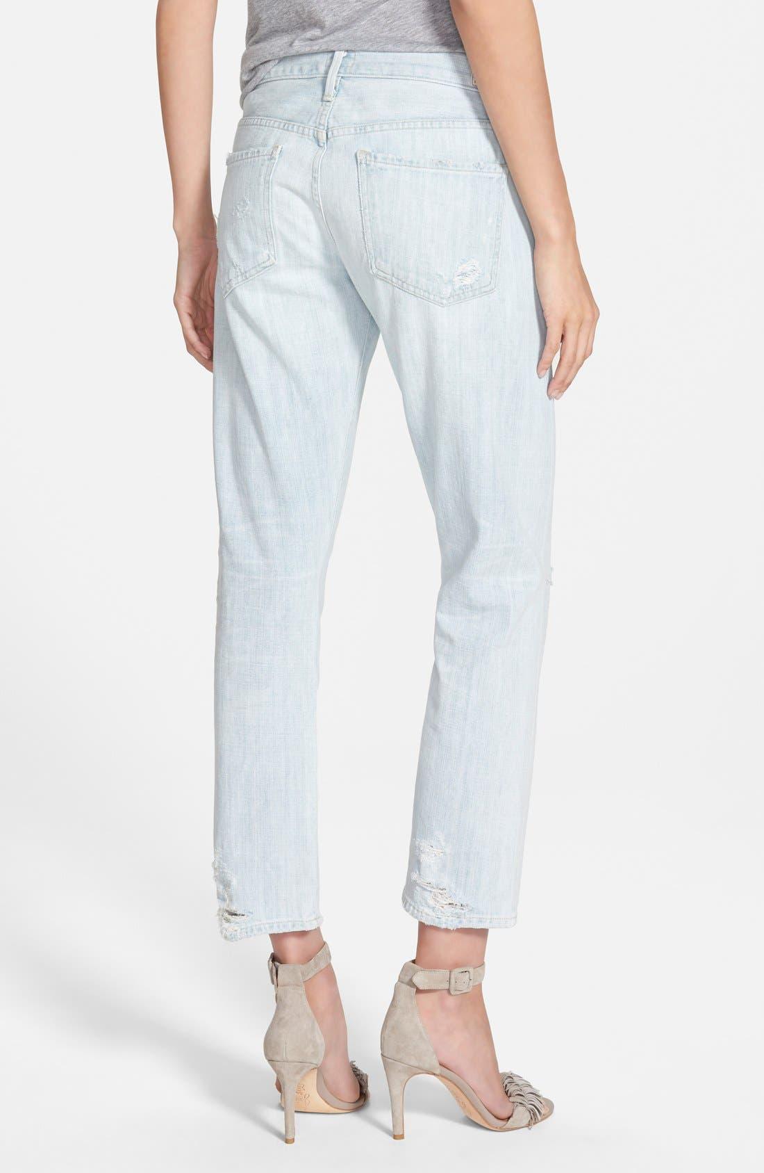 'Emerson' Slim Boyfriend Jeans,                             Alternate thumbnail 2, color,                             450
