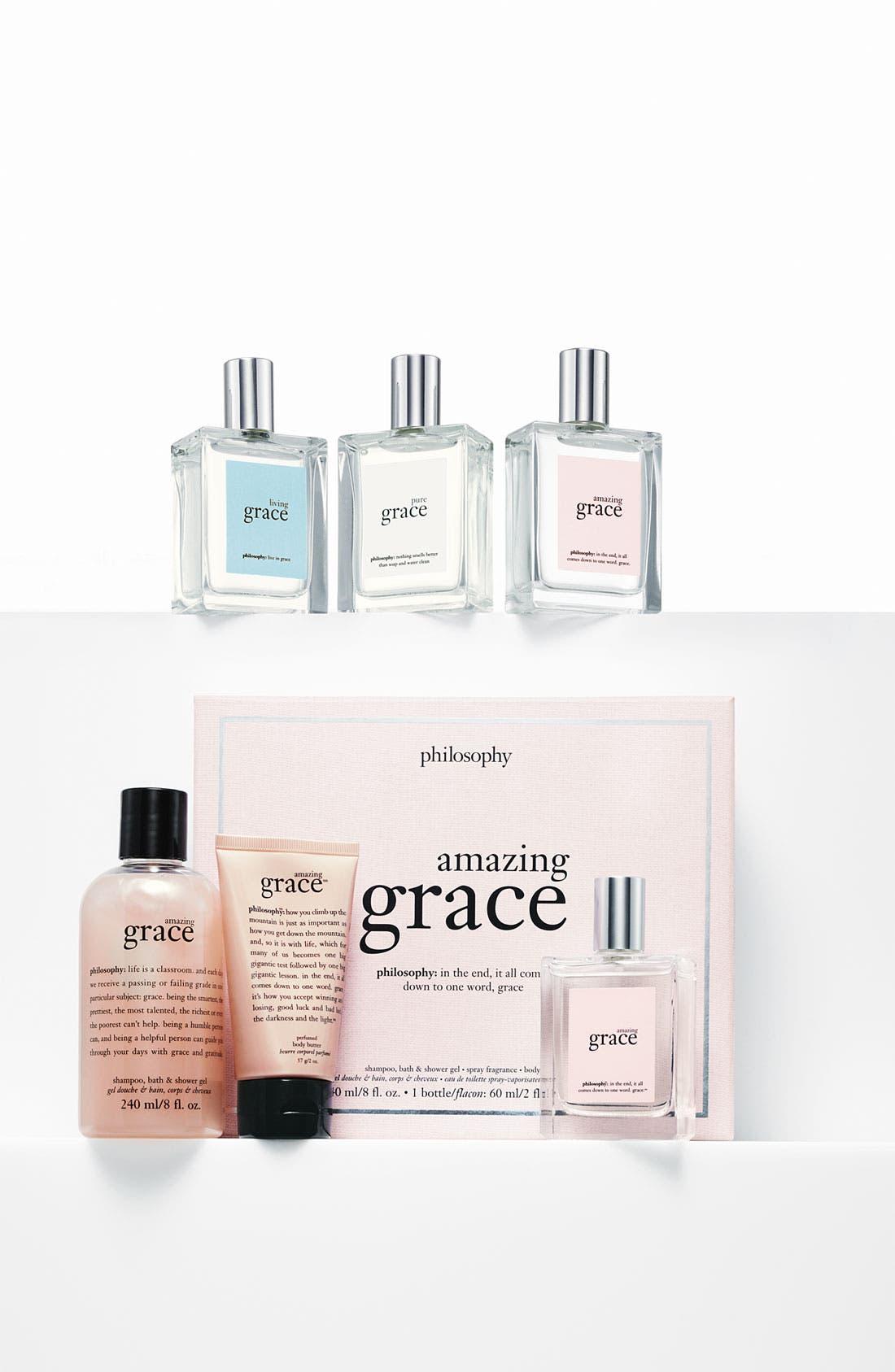 'pure grace' shampoo, bath & shower gel,                             Alternate thumbnail 2, color,                             NO COLOR