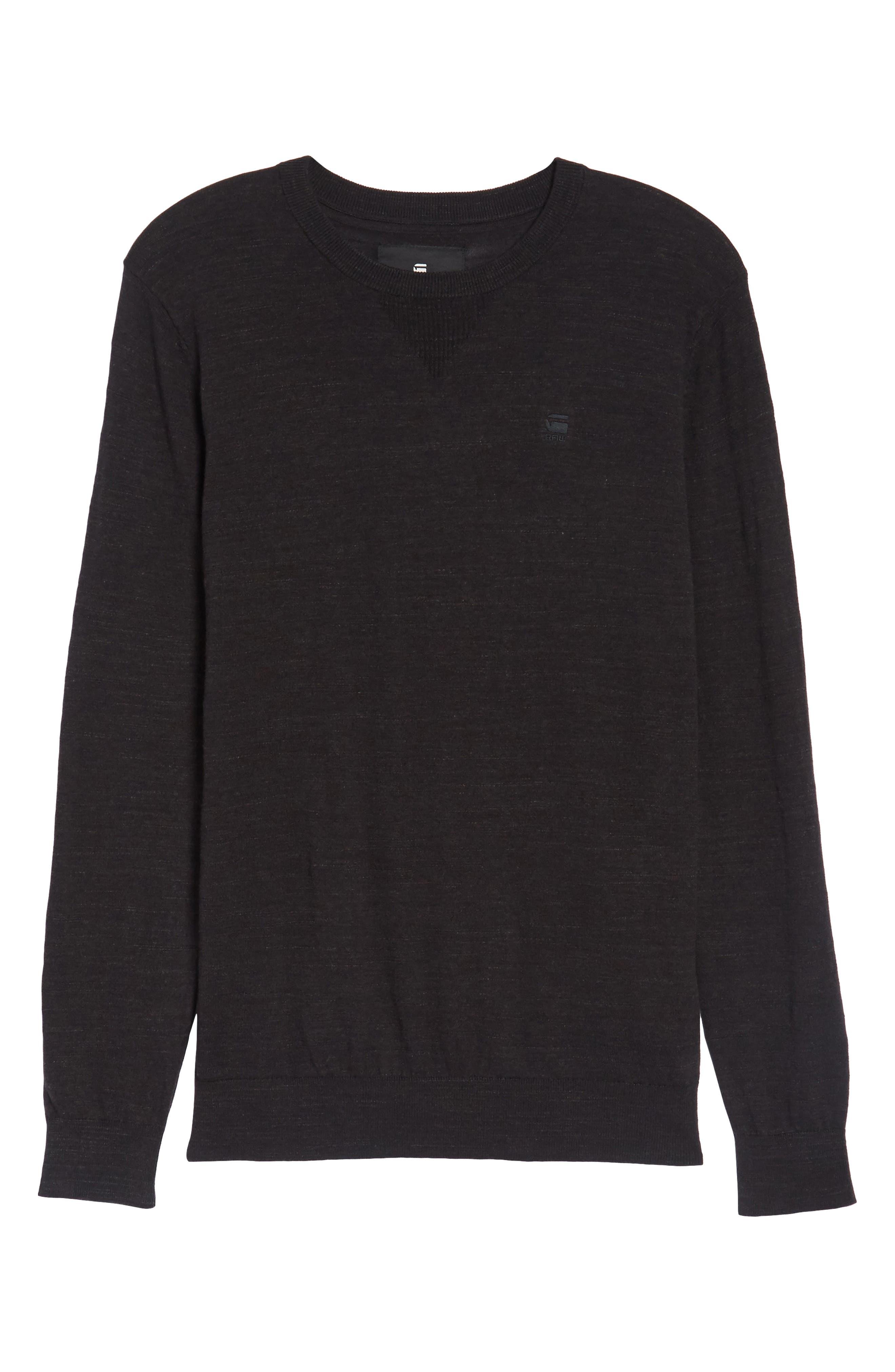 Core Sweater,                             Alternate thumbnail 6, color,                             001
