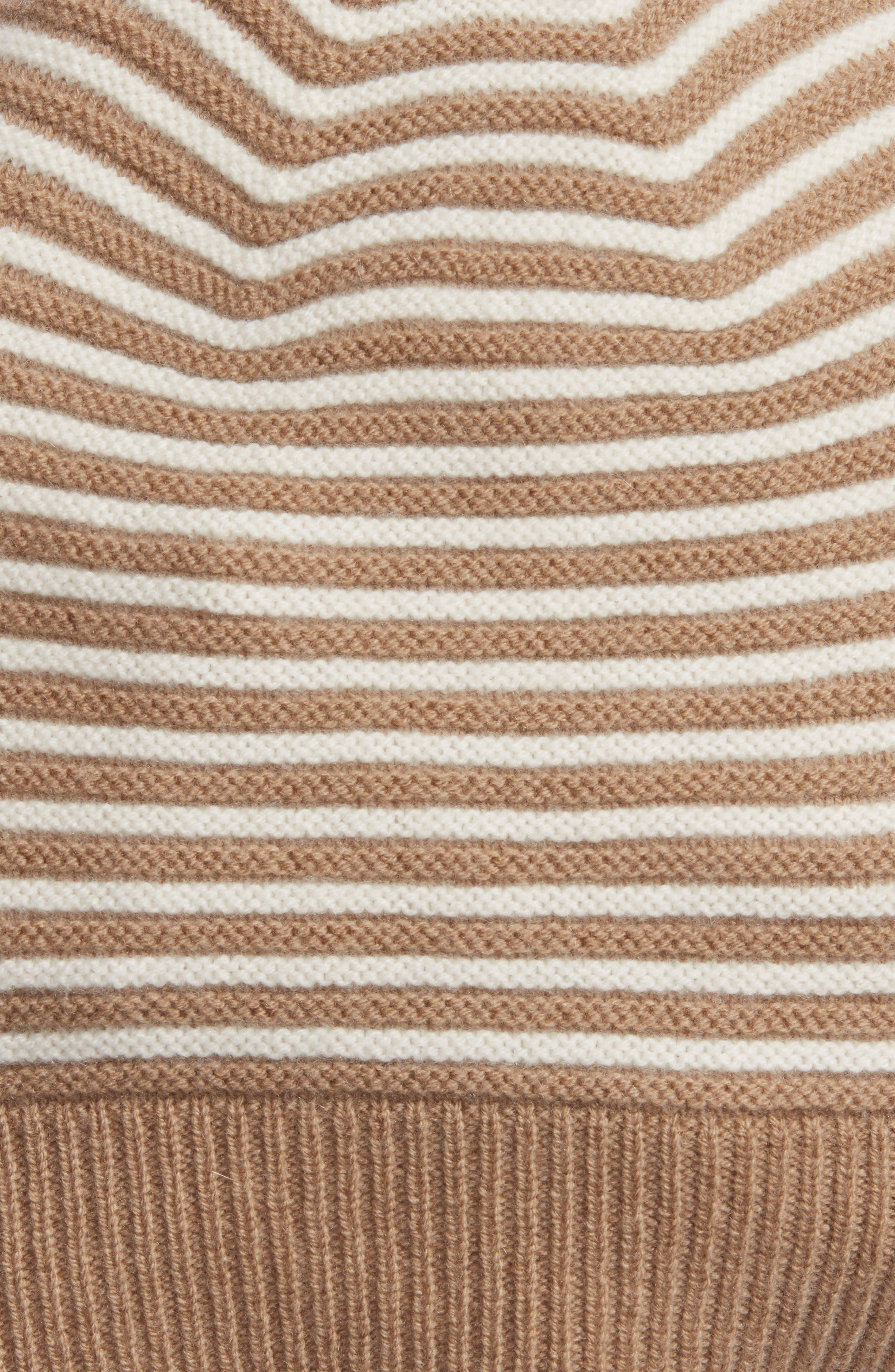 Double Links Wool & Cashmere Hat,                             Alternate thumbnail 6, color,