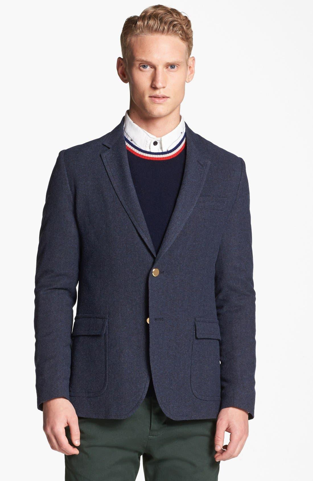 'Schoolboy' Blazer, Main, color, 462