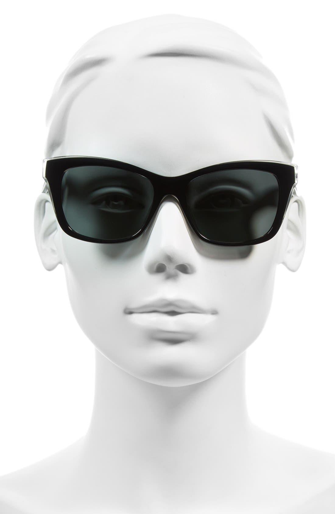jenae 53mm polarized sunglasses,                             Alternate thumbnail 5, color,