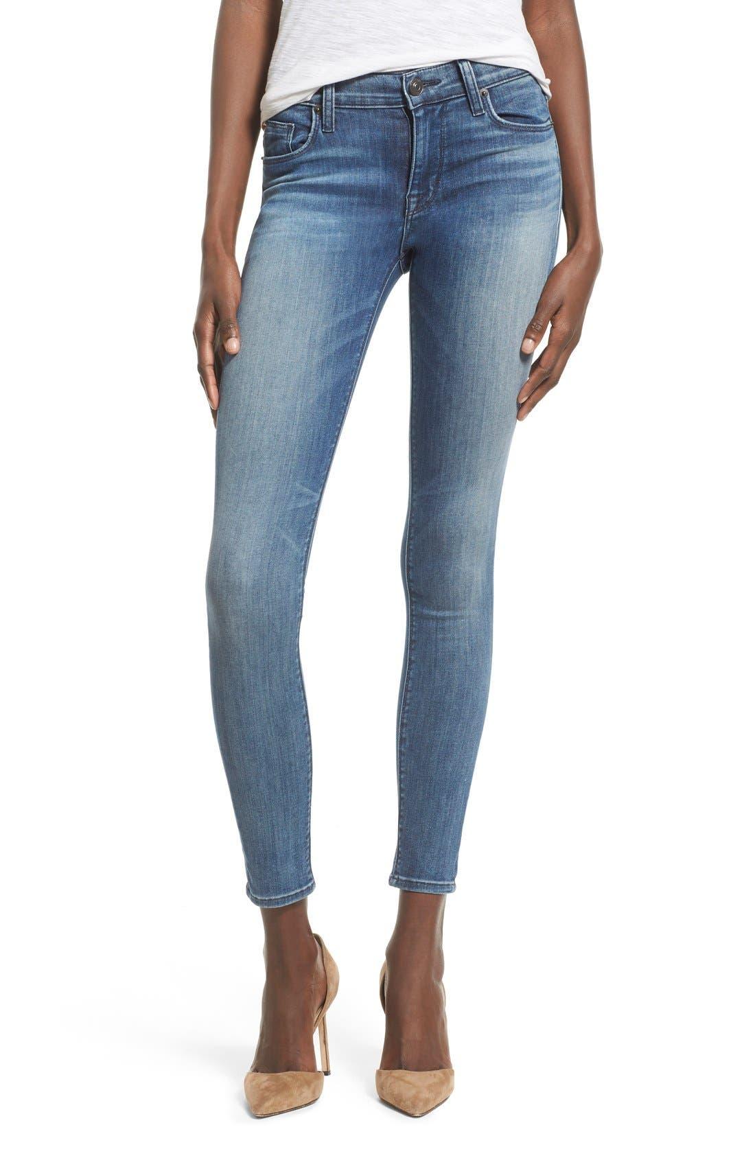 'Nico' Super Skinny Jeans,                             Main thumbnail 5, color,