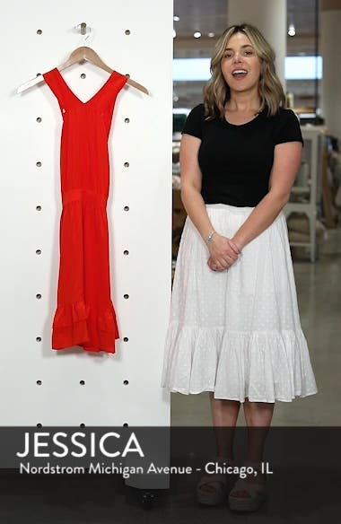 Alma Silk Fit & Flare Dress, sales video thumbnail