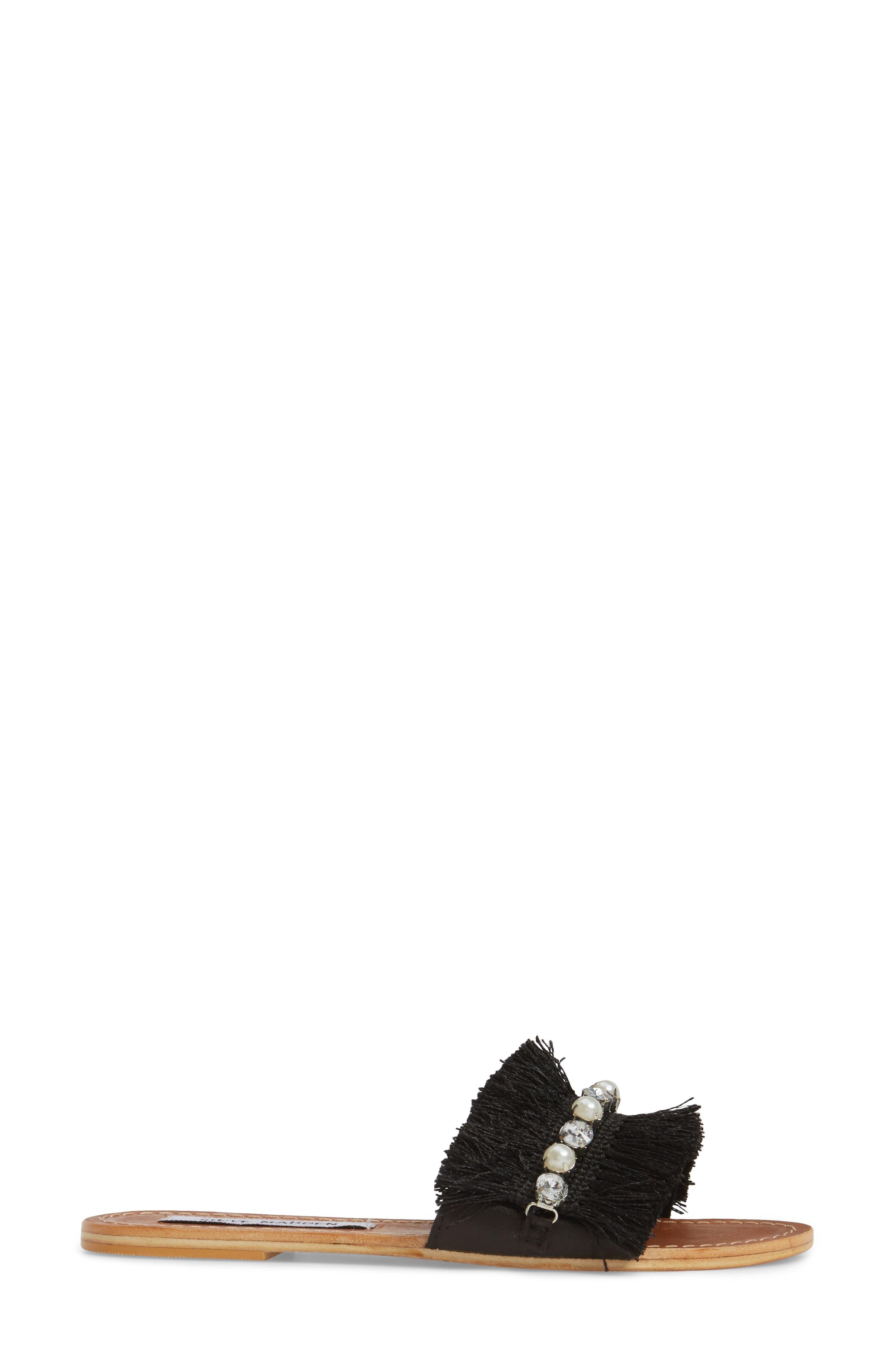 Isabella Slide Sandal,                             Alternate thumbnail 3, color,                             001