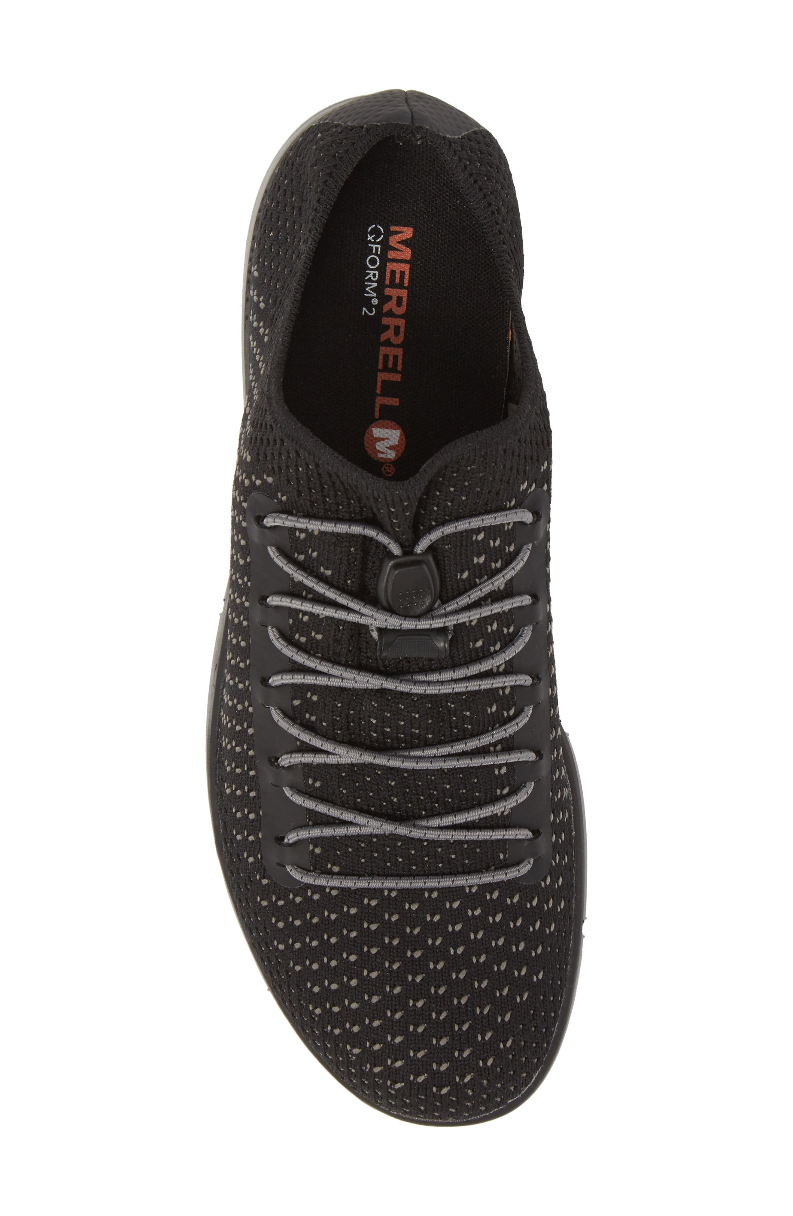Zoe Sojourn Lace Knit Sneaker,                             Alternate thumbnail 5, color,                             001