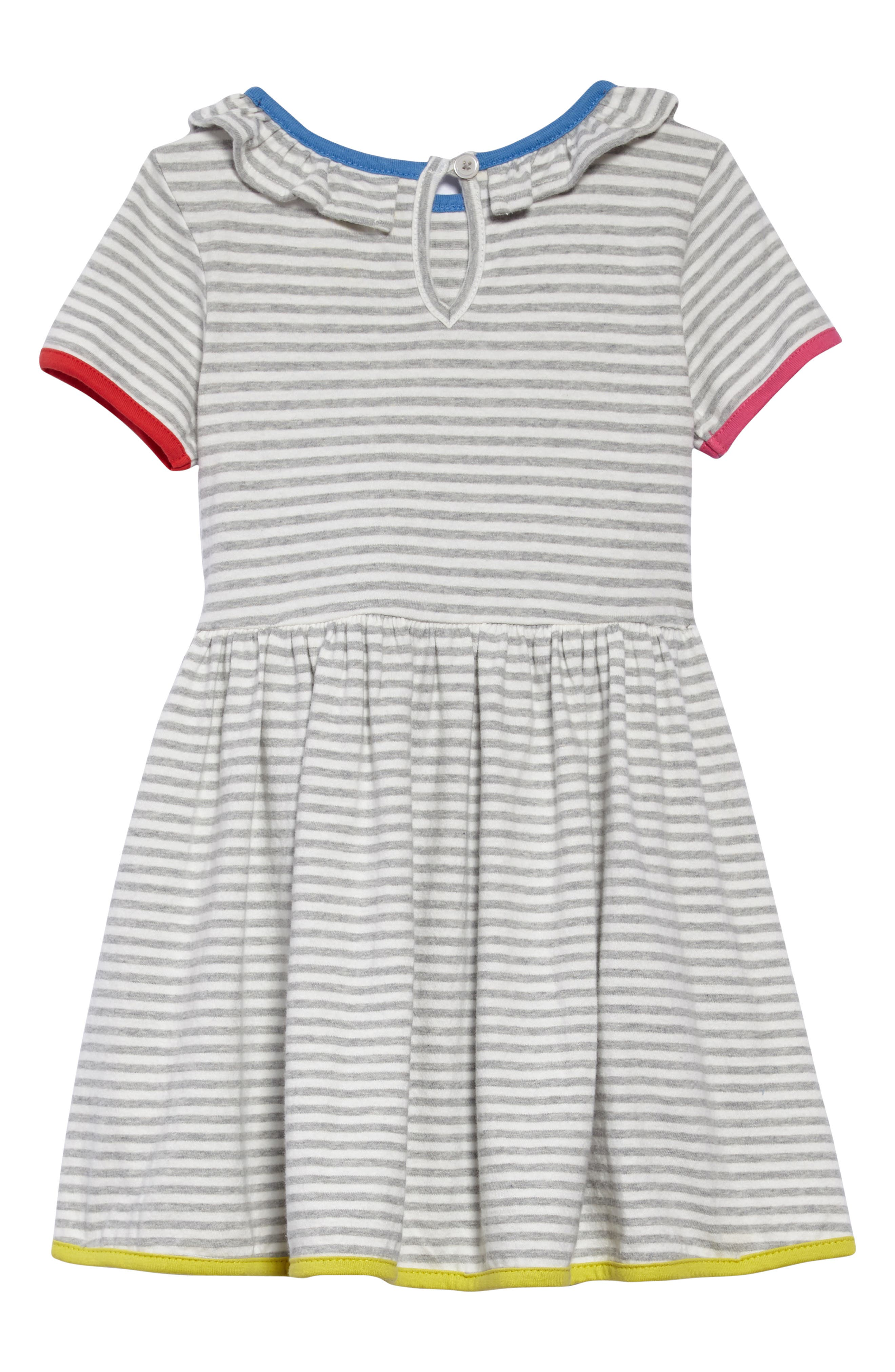 Stripe Jersey Dress,                             Alternate thumbnail 2, color,                             902