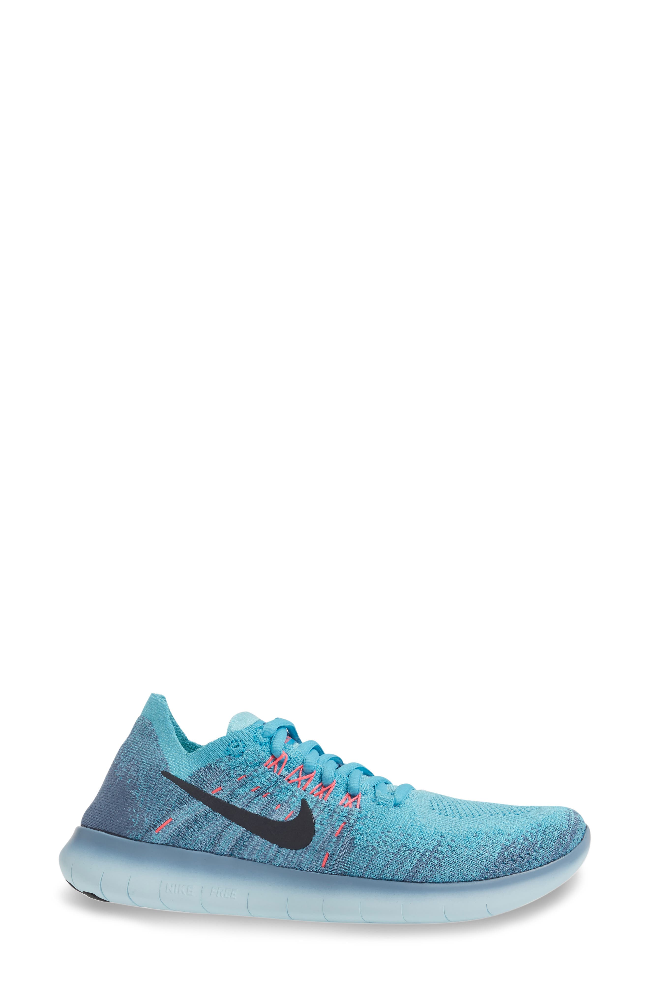 Free RN Flyknit 2 Running Shoe,                             Alternate thumbnail 8, color,