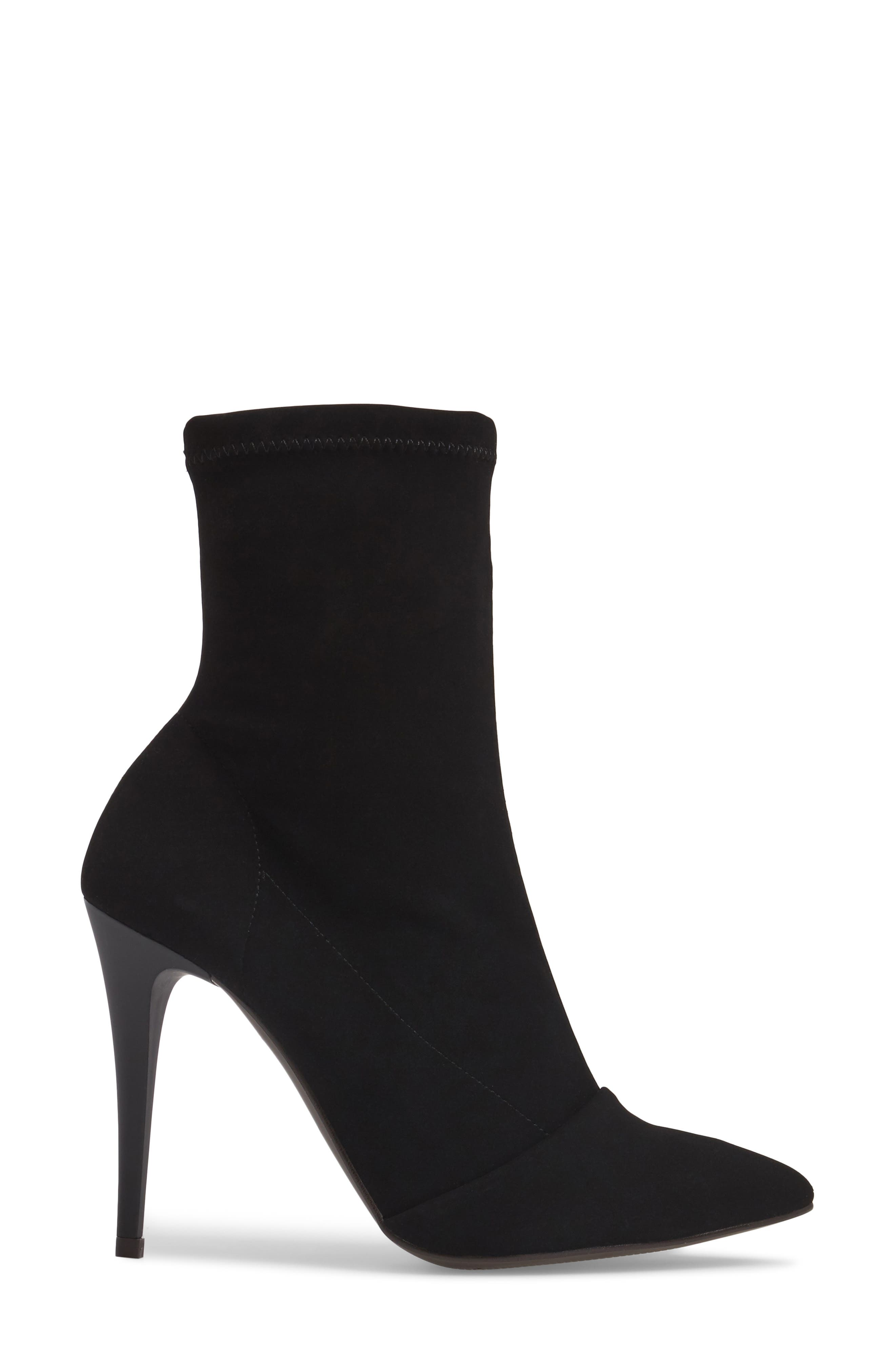 Hubba Pointy Toe Bootie,                             Alternate thumbnail 3, color,                             001