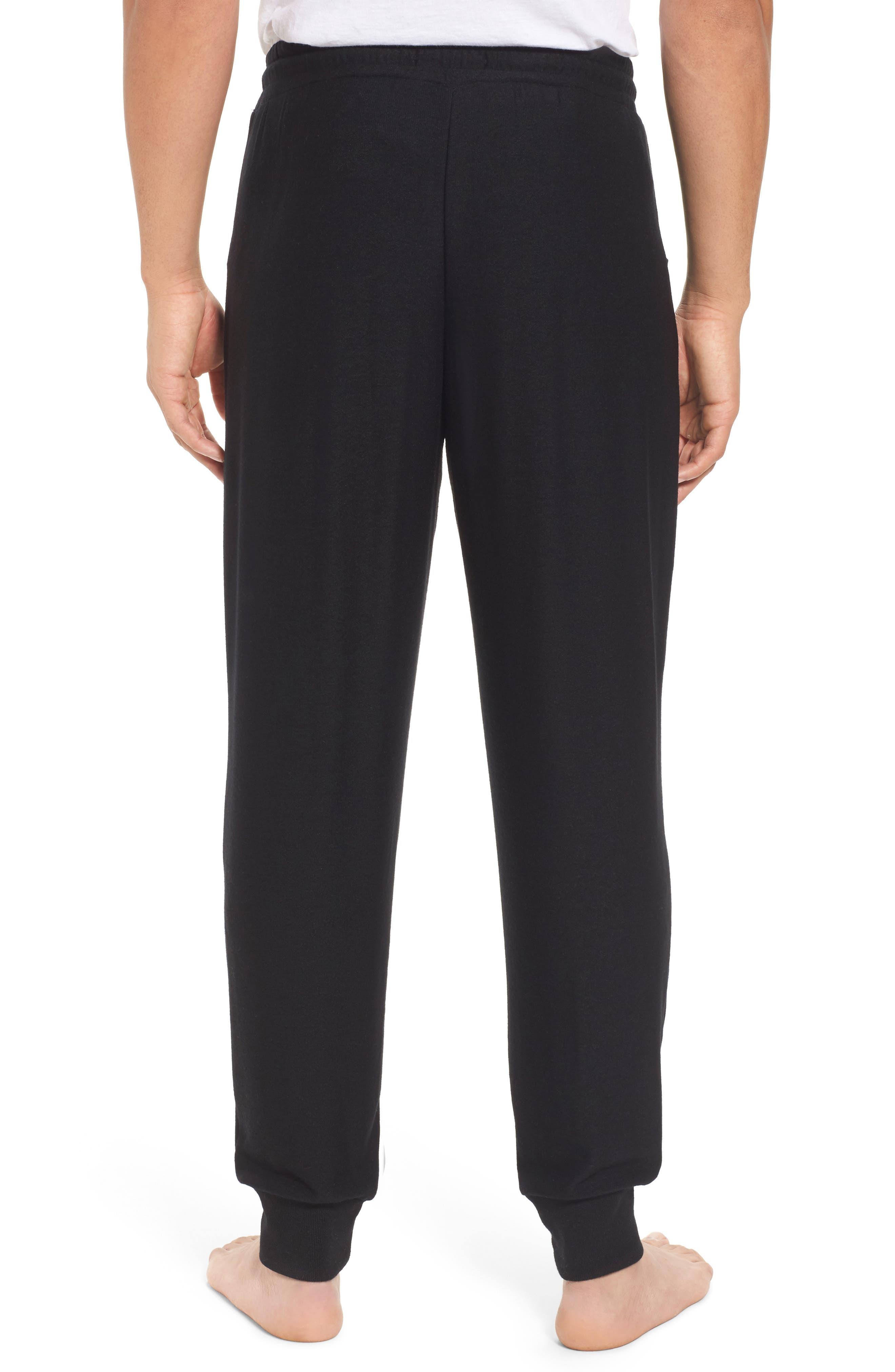 Ultra Soft Jogger Pants,                             Alternate thumbnail 2, color,                             BLACK